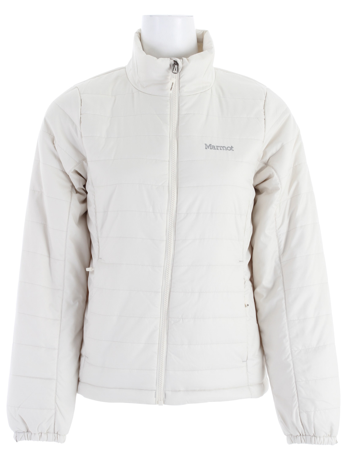 "Key Features of the Marmot Brilliant Insulated Jacket: Weight: 14.8oz (420g) Materials: 100% Polyester Ripstop DWR 2.3 oz/ yd Lining: 100% Polyester Embossed WR 1.3 oz/ yd Thermal R Eco Insulation Zippered Hand Pockets Inside Zip Pocket Elastic Draw Cord Hem Angel-Wing Movement Zippin Compatible 24"" Center Back Length for Size Medium - $96.95"