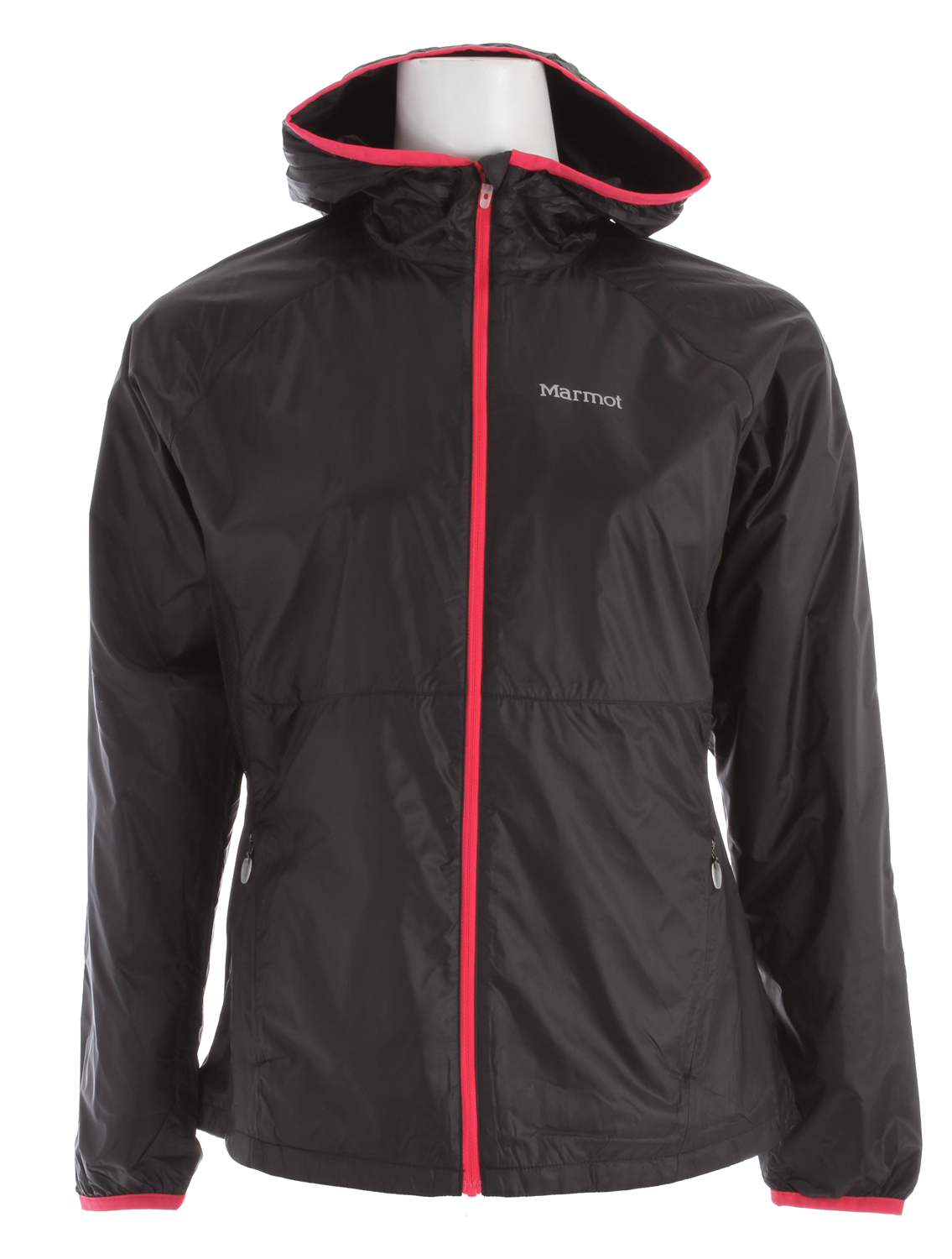 Key Features of the Marmot Ether Driclime Jacket: Wind Resistant, Water Repellent, and Breathable DriClime Bi-Component Wicking Lining Interior Pocket DriClime Lined Collar and Chin Guard Elastic Cuffs Reflective Logos Angel- Wing Movement Sized Specifically for Women Weight 0lbs 8.4oz (238.1g) Materials 100% Polyester DWR Ottaman 2.2 oz/yd Center Back Length 26in Fit Regular Fit - $76.95
