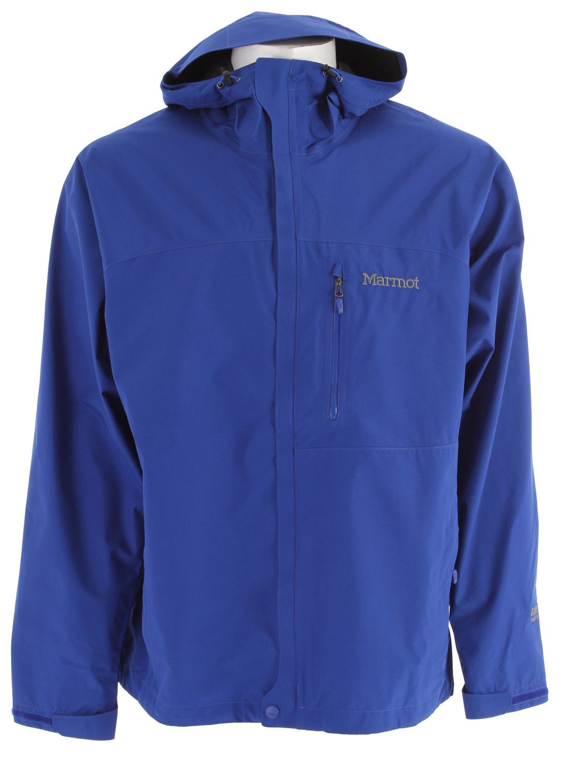 "Surf Key Features of the Marmot Minimalist Jacket: GORE-TEX Paclite: Guaranteed to Keep You Dry Weight 0lb 15.8oz (448g) Materials GORE-TEXPaclite100% Polyester 3.6 oz/yd PitZips 100% Seam Taped Attached Adjustable Hood Chest Pocket with Water-Resistant Zipper Zippered Hand Pockets Storm Flap over Zipper with Snap/Velcro Closure Elastic Draw Cord Hem DriClime Lined Chin Guard Angel-Wing Movement 29 1/2"" Center Back Length for Size Medium - $139.95"