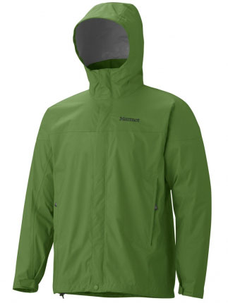 Key Features of the Marmot Precip Jacket: Weight 0lbs 13.1oz (371.4g) Materials PreCip 2.5 100% Nylon Ripstop 2.7oz/yd Center Back Length 29in Fit Regular Fit PreCip Dry Touch Technology, Waterproof/Breathable 100% Seam Taped Full Visibility Roll-Up Hood with Integral Collar PitZips Pack Pockets Double Storm Flap Over Zipper with Snap/Velcro Closure Elastic Draw Cord Hem DriClime Lined Chin Guard Angel-Wing Movement - $99.95