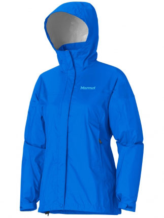 Key Features of the Marmot Precip Jacket: Weight 0lbs 11.4oz (323.2g) Materials PreCip 2.5 100% Nylon Ripstop 2.7oz/yd Center Back Length 27in Fit Regular Fit PreCip Dry Touch Technology, Waterproof/Breathable 100% Seam Taped Full Visibility Roll-Up Hood with Integral Collar PitZips Pack Pockets Double Storm Flap Over Zipper with Snap/Velcro Closure Elastic Draw Cord Hem DriClime Lined Chin Guard Angel-Wing Movement - $99.95