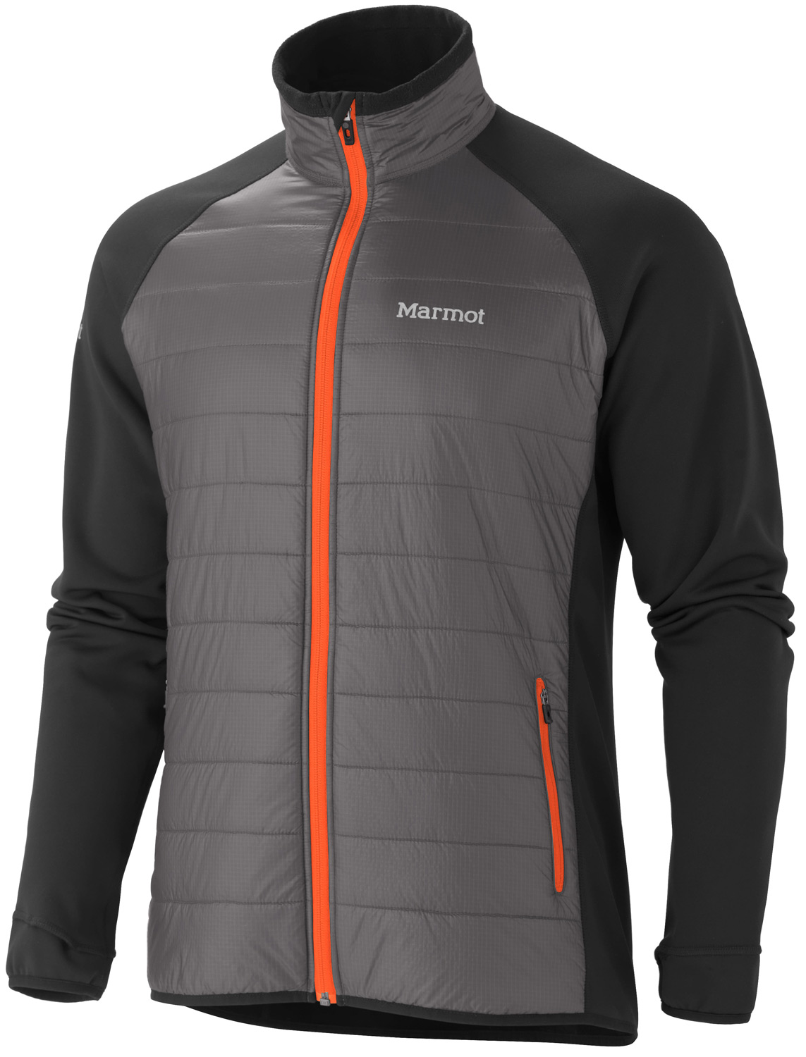 Key Features of the Marmot Variant Jacket: Full Zip Jacket with Thermal R Eco Insulation at Front Body Polartec® Power Stretch® Panels at Side Torso, Sleeves and Back Thumbholes Lightweight Stretch Binding at Cuffs and Bottom Hem Front Hand Zip Pockets, Reflective Logos Weight 0lbs 12.8oz (362.9g) Materials Polartec®Power Stretch® 88% Polyester, 12% Elastane 6.8 oz/yd / 100% Nylon Ripstop DWR 0.8 oz/yd Center Back Length 27.25in Fit Athletic Fit - $111.95