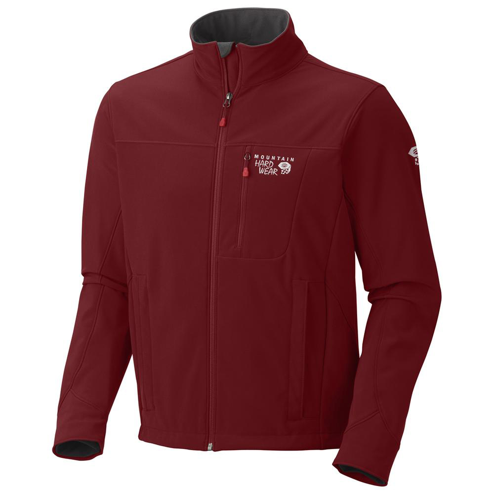 An athletic and windproof softshell, with outstanding DWR finish to shed water and snow. Wind and water resistant soft shell jacket. Ideal for wearing in the mountains or to the pub. - $150.00