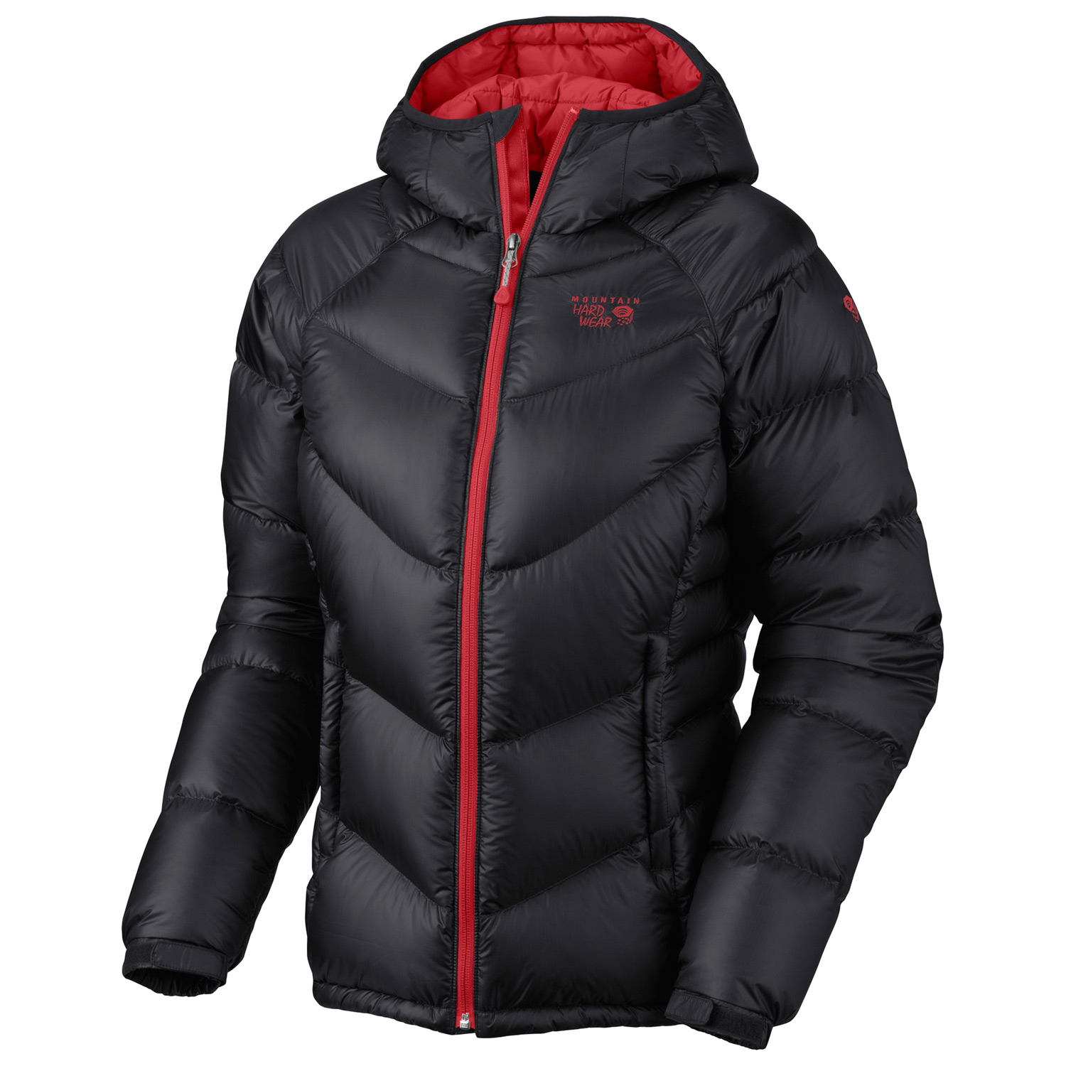 Looking for the right winter route? You'll want to make sure you're in the right jacket first. This lofty 650-fill goose down jacket has incredible ripstop nylon and DWR for abrasion and water resistance on even the toughest winter lines. Lightweight fabric and plenty of lofty 650-fill down. This jacket will keep you warm and moving quickly up the mountain.Key Features of the Mountain Hardwear Kelvinator Jacket: 20D Nylon Rip (100% nylon) 650-Fill Goose DownTwo front handwarmer pockets Dual hem drawcords seal in warmth Full elastic cuffs slide easily over layers to seal in warmth Low profile, insulated hood Micro-Chamois-lined chin guard prevents zipper chafe - $171.95