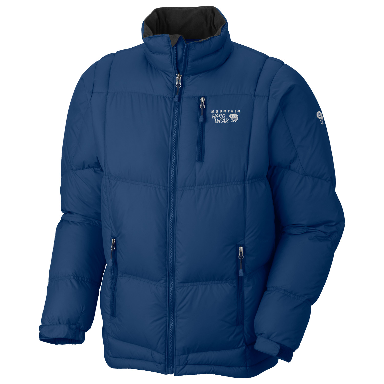 Stay warm in this midweight, 650-down filled jacket. Perfect under a shell on stormy days or on its own on chilly nights. This midweight down jacket is perfect for layering or as a stand alone piece on cold days around town.Key Features of the Mountain Hardwear Lodown Jacket: 30D Micro Taffeta (100% nylon) 650-Fill Goose DownInsulated with lofty and warm 650-fill goose down Zip handwarmer pockets Dual hem drawcords seal in warmth Micro-Chamois-lined chin guard prevents zipper chafe - $116.95