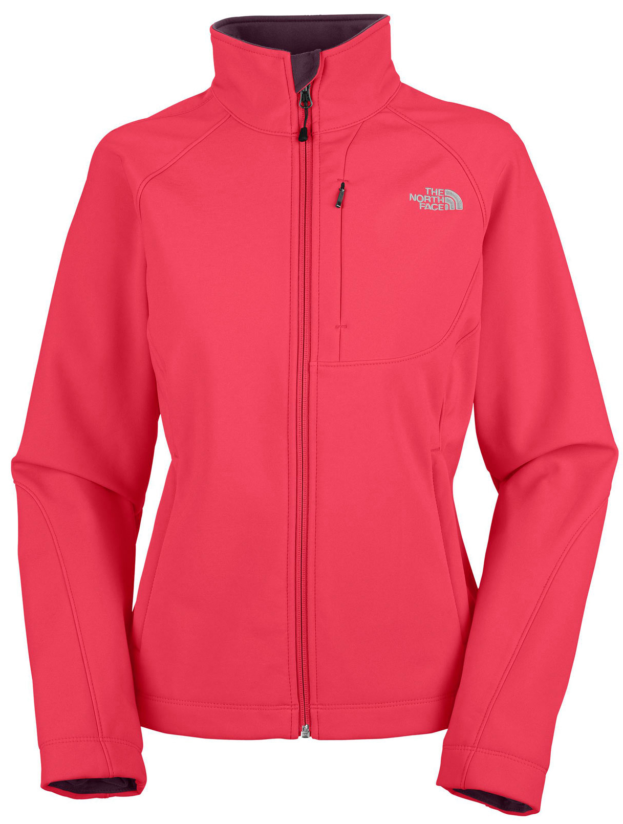 "Four-season, versatile, windproof soft shell with a stretchy, comfortable fit ideal for multiple activities. Key Features of The North Face Apex Bionic Jacket: Avg Weight: 561.59 g (19.81 oz) Center Back: 25.5"" Fabric: 90D 351 g/m2 (10.3 oz/yd2) plain weave polyester TNF Apex ClimateBlock Built for outdoor activities in inclement weather, this lightweight soft shell is lightly insulated with a soft, comfortable Silken fleece lining. Standard fit TNF Apex ClimateBlock fabric wind permeability rated at 0 CFM Fleece backer Napoleon chest pocket Two hand pockets Internal stretch comfort cuffs - $111.95"