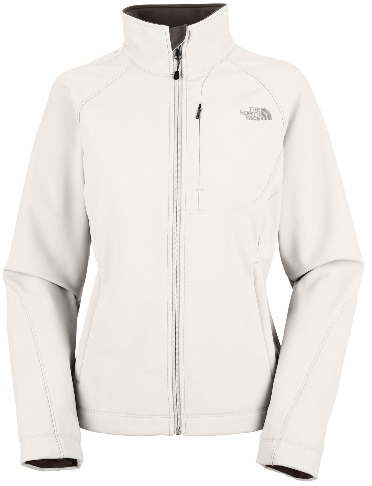 "Key Features of The North Face Apex Bionic Jacket: Avg Weight: 561.59 g (19.81 oz) Center Back: 25.5"" Fabric: 90D 351 g/m2 (10.3 oz/yd2) plain weave polyester TNF™ Apex ClimateBlock Built for outdoor activities in inclement weather, this lightweight soft shell is lightly insulated with a soft, comfortable Silken fleece lining. Standard fit TNF™ Apex ClimateBlock fabric wind permeability rated at 0 CFM Fleece backer Napoleon chest pocket Two hand pockets Internal stretch comfort cuffs - $111.95"