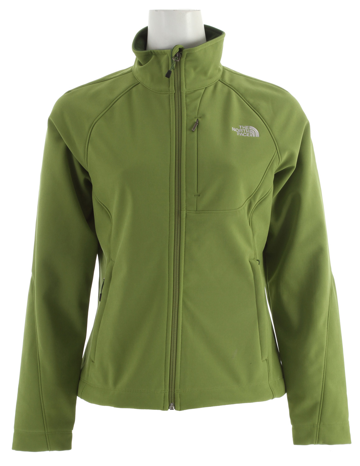 Versatile and widely worn soft shell has enhanced windproof features and a stretchy, comfortable fit; ideal for multiple activities.* Standard fit * TNF Apex ClimateBlock fabric wind permeability rated at 0 CFM * Fleece backer * Napoleon chest pocket * Two hand pockets * Internal stretch comfort cuffs - $100.95