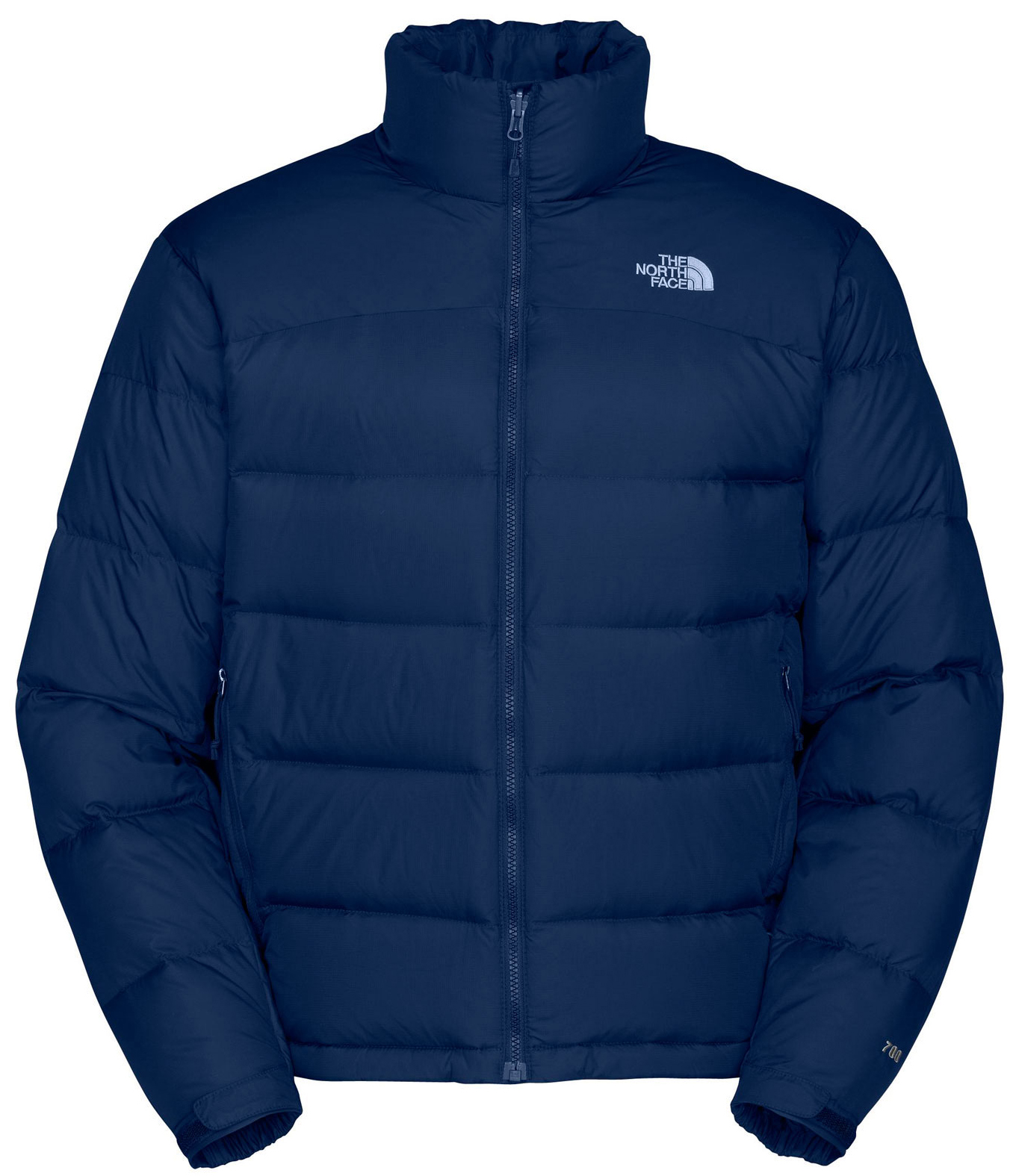 "Key Features of The North Face Nuptse 2 Jacket: Avg Weight: 690 g (24.4 oz) Center Back: 27.5"" Fabric: body: 50D 64 g/m2 (1.9 oz/yd2) mini-ripstop weave nylon abrasion: 50D 64 g/m2 (1.9 oz/yd2) plain weave nylon with DWR insulation: 700 fill goose down The North Face classic, high loft down jacket that delivers plush warmth in harsh cold. Standard fit Zip-in compatible Taffeta emergency hood Double-layer taffeta on shoulders Stows in hand pocket Two hand pockets Elastic cuff Hem cinch-cord - $164.95"