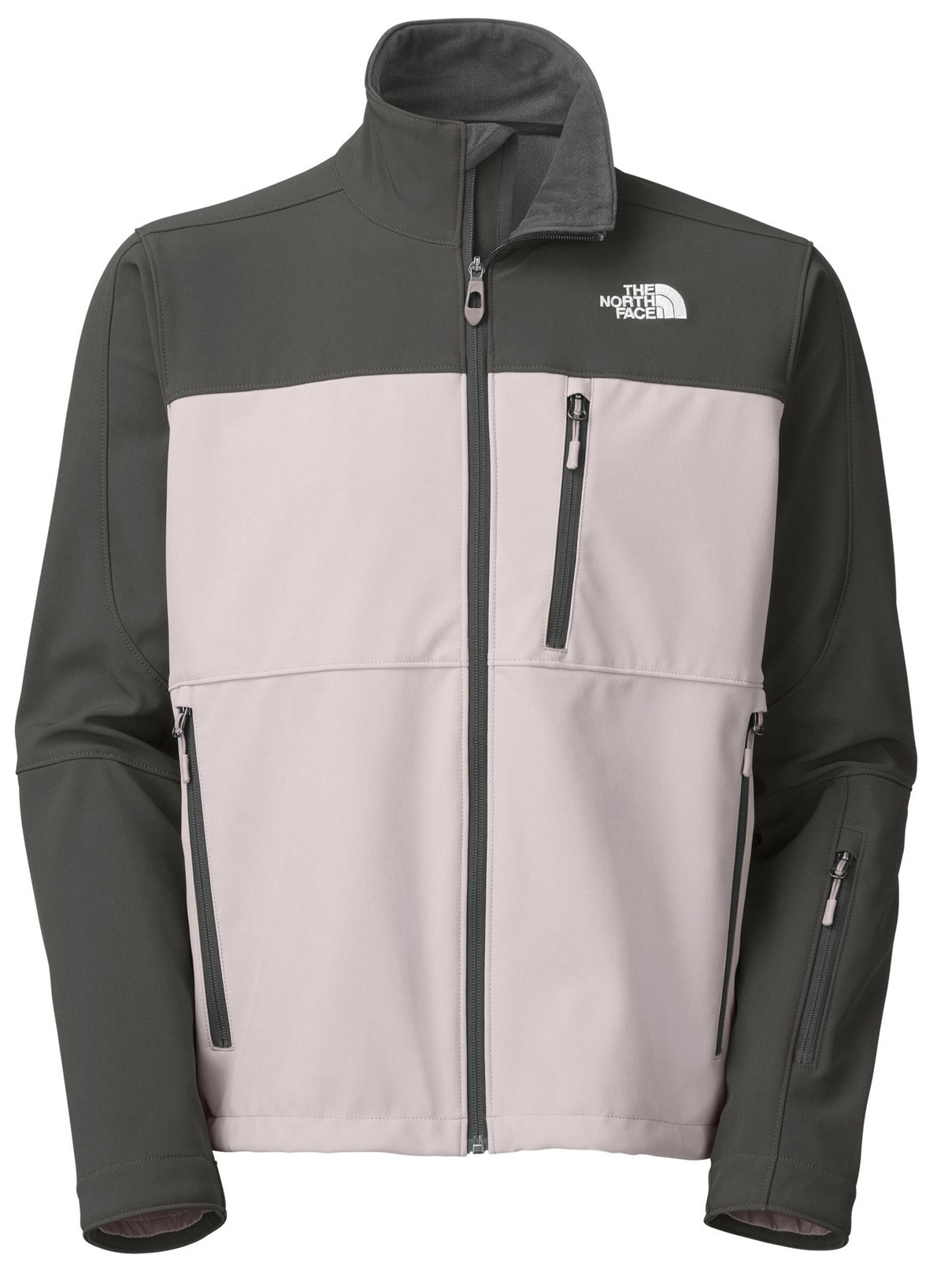 "A streamlined and progressive soft shell that provides maximum breathability and agility on the hill. Key Features of The North Face Palmyra Softshell Jacket: Avg Weight: 770 g (27.16 oz) Center back: 28"" Fabric: 339 g/m² TNF Apex ClimateBlock with fleece backer;55% polyester, 39% nylon, 6% elastane (bluesign approved fabric) Water-resistant, breathable Zip chest pocket Zip hand pockets Wrist accessory pocket Internal seam zipper Adjustable hem system - $137.95"