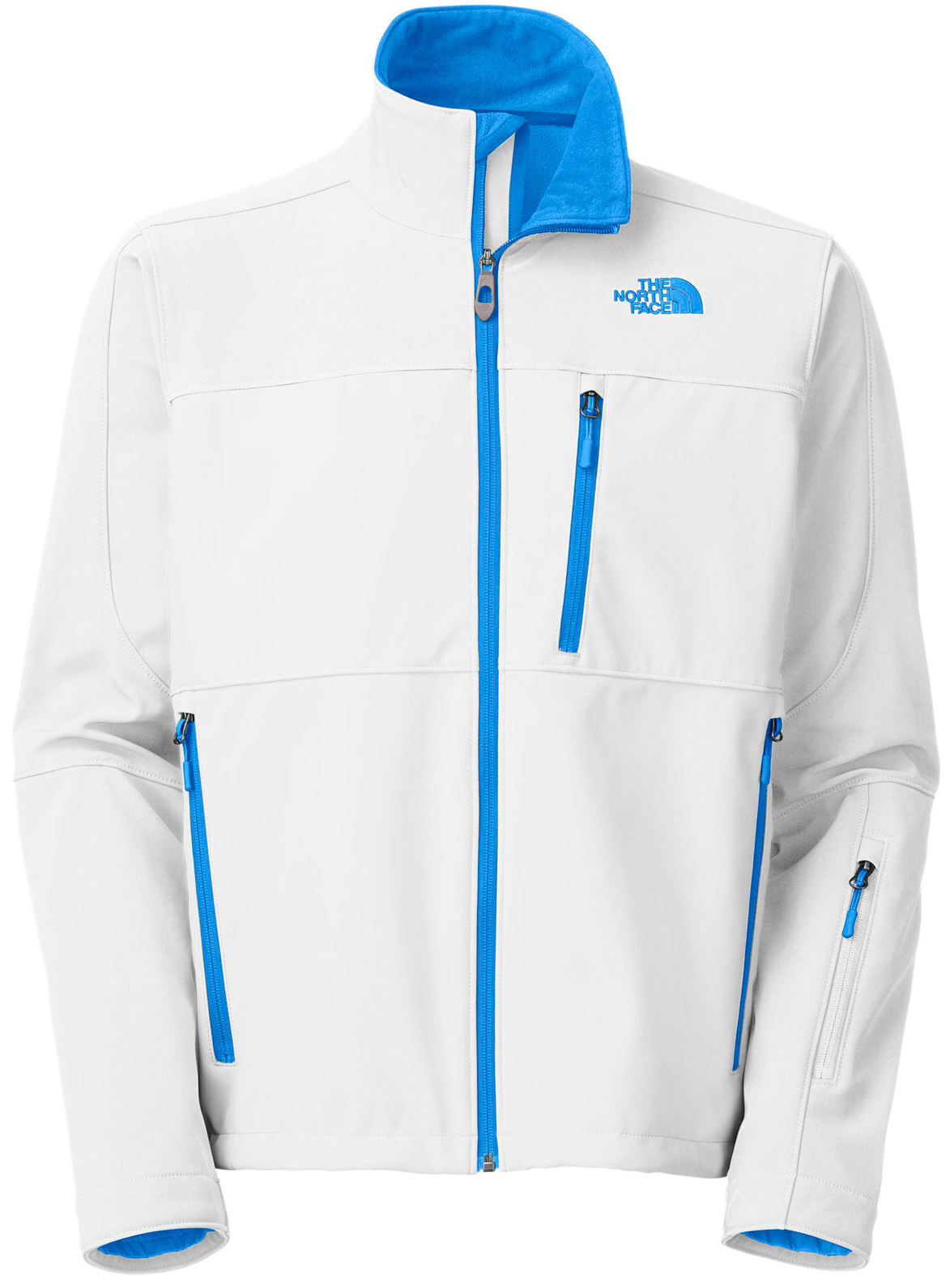 "A streamlined and progressive soft shell that provides maximum breathability and agility on the hill. Key Features of The North Face Palmyra Softshell Jacket: Avg Weight: 770 g (27.16 oz) Center back: 28"" Fabric: 339 g/m2 TNF Apex ClimateBlock with fleece backer;55% polyester, 39% nylon, 6% elastane (bluesign approved fabric) A streamlined and progressive soft shell that provides maximum breathability and agility on the hill. Water-resistant, breathable Zip chest pocket Zip hand pockets Wrist accessory pocket Internal seam zipper Adjustable hem system - $149.95"
