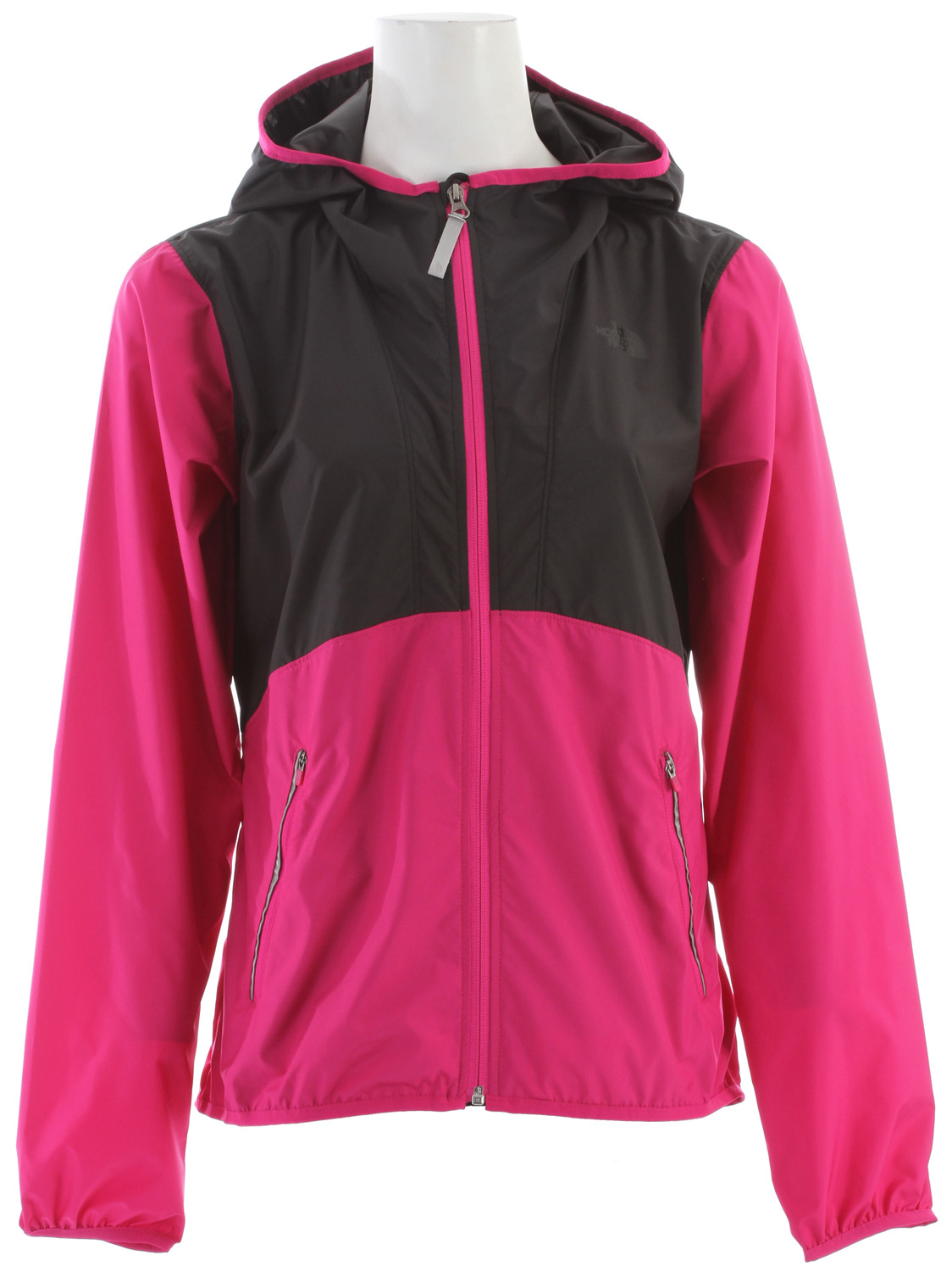 "MTB A lightweight, wind-resistant jacket with bike-friendly features and reflective trim to keep you comfortable and visible during your bike commute. Key Features of The North Face Ripley Jacket: Wind resistant Fixed hood Zip hand pockets Back zip security pocket Elliptical hem Media port Reflective logosand elements avg weight: 240 g (8.47 oz) Center back: 27.75"" fabric: 50D 76 g/m² (2.24 oz/yd²) 100% recycled polyester taffeta with DWR - $68.95"
