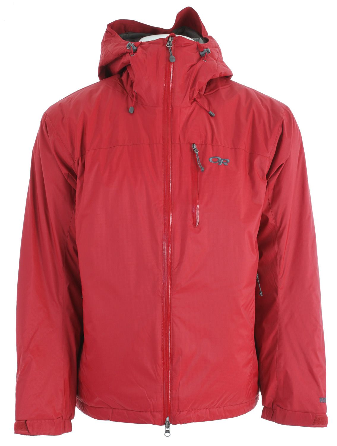 Ski A mountain guide favorite for very cold, damp, and high wind conditions, the Outdoor Research Chaos Insulated Jacket is an OR classic that returns with updated features for greater functionality as the ultimate alpine, ice, and backcountry ski parka.Key Features of the Outdoor Research Chaos Insulated Jacket: Highly weather-resistant/breathable WINDSTOPPER shell fabric; quilted taffeta lining PrimaLoft ECO insulation; 133g body, 100g sleeves, 60g hood Fully adjustable hood fits over a helmet Water-resistant zippers Double-sliding front zipper with internal stormflap Zippered napoleon pocket; zippered internal chest pocket with media port Two zippered handwarmer pockets Two internal Shove-It pockets with drawcord closure Elastic cuffs with hook/loop tabs Dual drawcord hem adjustments - $189.95