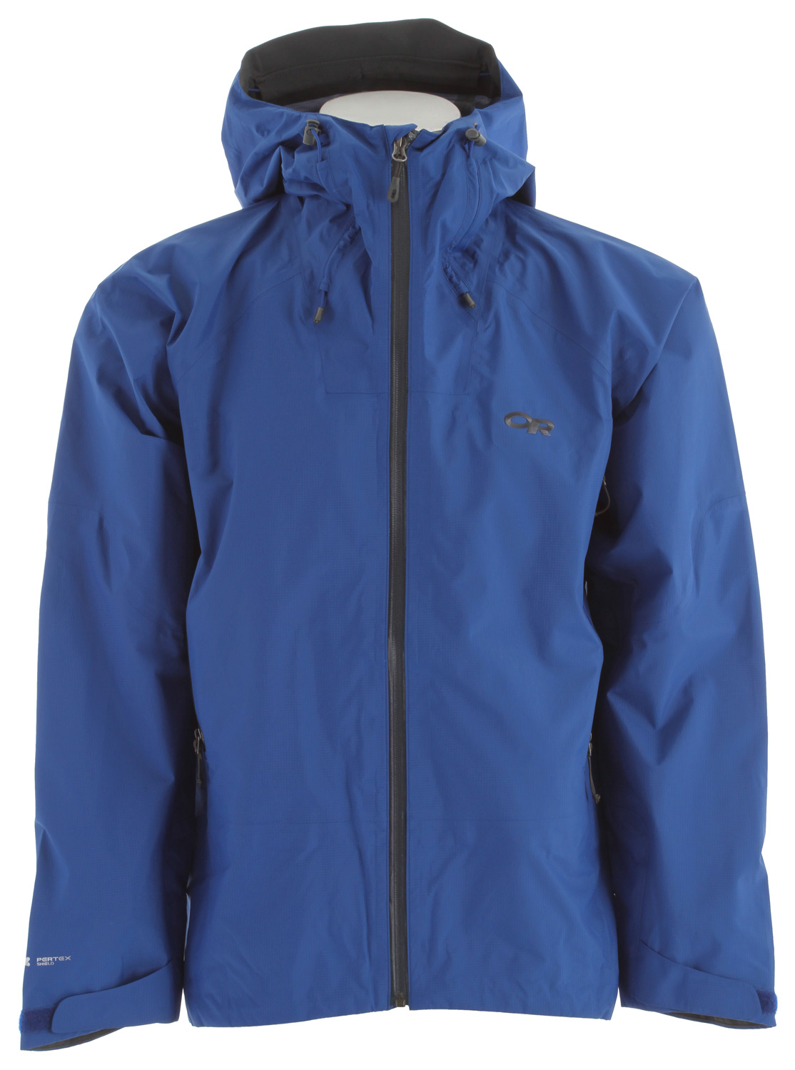 Combining features for rugged alpine conditions with ultralight fabric, this three-season, three-layer shell is built for when saving weight and durability are equally important. The misty pre-dawn sky hints at the coming bluebird day as packs are shouldered, headlamps are switched on, and quick steps put more distance between you and the trailhead, For burly spring climbs, there is no better outer layer than the Paladin, Ultralight fabric is durably constructed for the most rugged conditions, and the no-frills design offers high performance without weighty excess. Features include a helmet compatible hood, harness- and pack-compatible pockets, easily adjustable ventilation, and construction that keeps the jacket in place when constantly reaching above your head for the next hold.* Ultralight, waterproof/breathable, 3-layer 30D Pertex Shield fabric * Fully seam taped * Water-resistant zippers * Fully adjustable hood fits over helmet * Hood tunnels keep cord ends away from face * Front zipper with internal storm flap * Two zippered, brushed-mesh hand pockets, double-sliding zippers allow venting * Zippered internal pocket with media port * Articulated elbows * Hook/loop cuff closures * Dual-drawcord hem adjustments * Fabric: 100% Nylon - $124.95