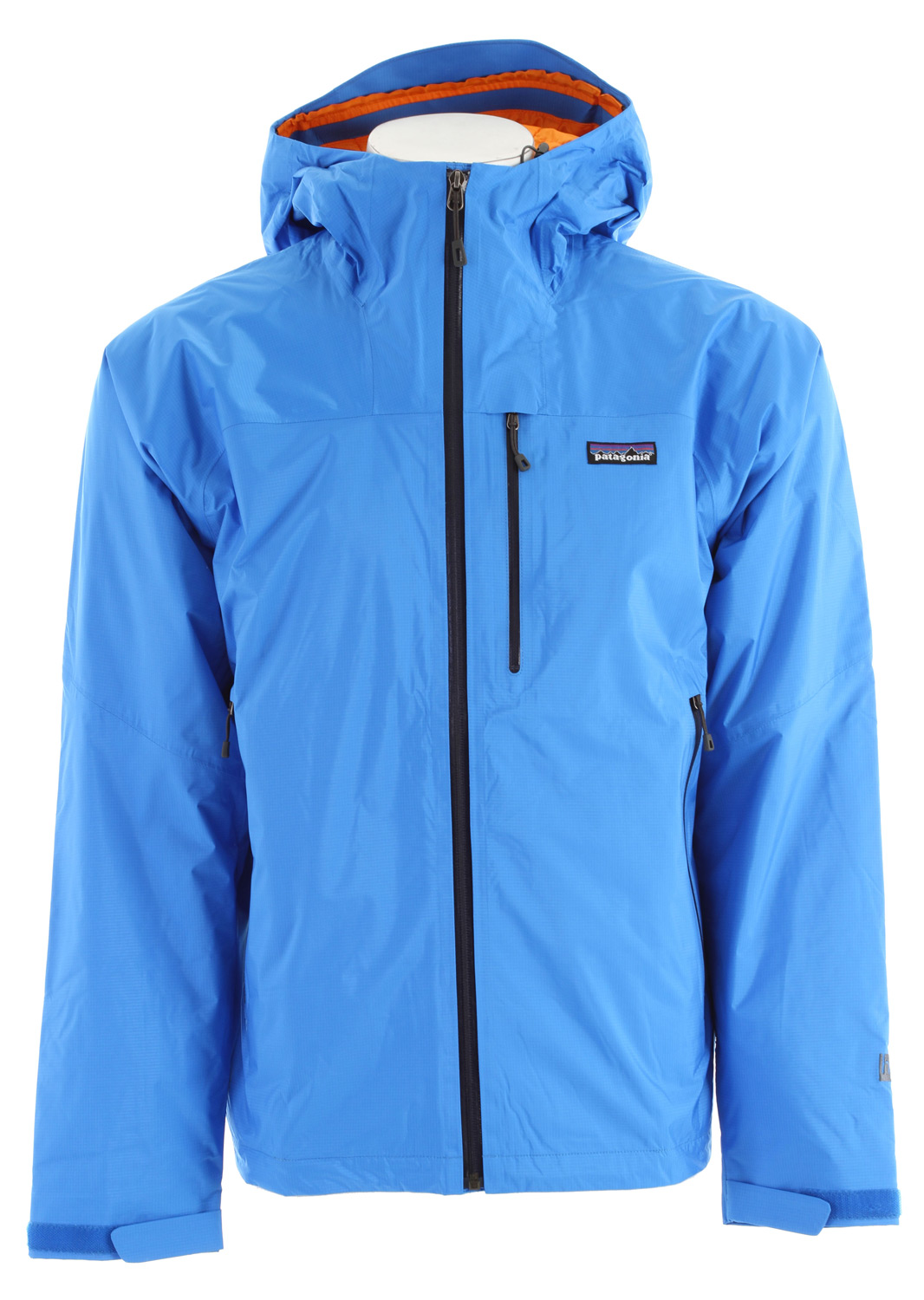 Waterproof, warm and superlight, this jacket has 2.5-layer nylon shell with a waterproof/breathable H2No barrier, and is insulated with Primaloft One polyester for cold and wet-weather protectionKey Features of the Patagonia Nano Storm Jacket: 2.5-layer nylon ripstop with a waterproof/breathable H2No barrier and Deluge DWR (durable water repellent) finish Lightweight 60-g Primaloft One polyester insulation provides excellent warmth and compressibility Unique quilt pattern holds insulation in place for durability Helmet-compatible, fully-adjustable hood with laminated visor for visibility in bad conditions Watertight, coated center-front-zipper Self-fabric hook-and-loop cuff closures and dual-adjust drawcord hem seal out the elements Pockets: Two handwarmers; one exterior left chest; one internal zippered pocket, one internal drop-in Regular fit (24.1 oz) 683 g Fabric: Shell: 2.5-layer 2.6-oz 50-denier 100% nylon ripstop with a waterproof/breathable H2No barrier. Insulation: 60-g Primaloft One polyester. Lining: 1.4-oz 22-denier 100% recycled polyester. Shell and lining have a Deluge DWR finish - $239.95