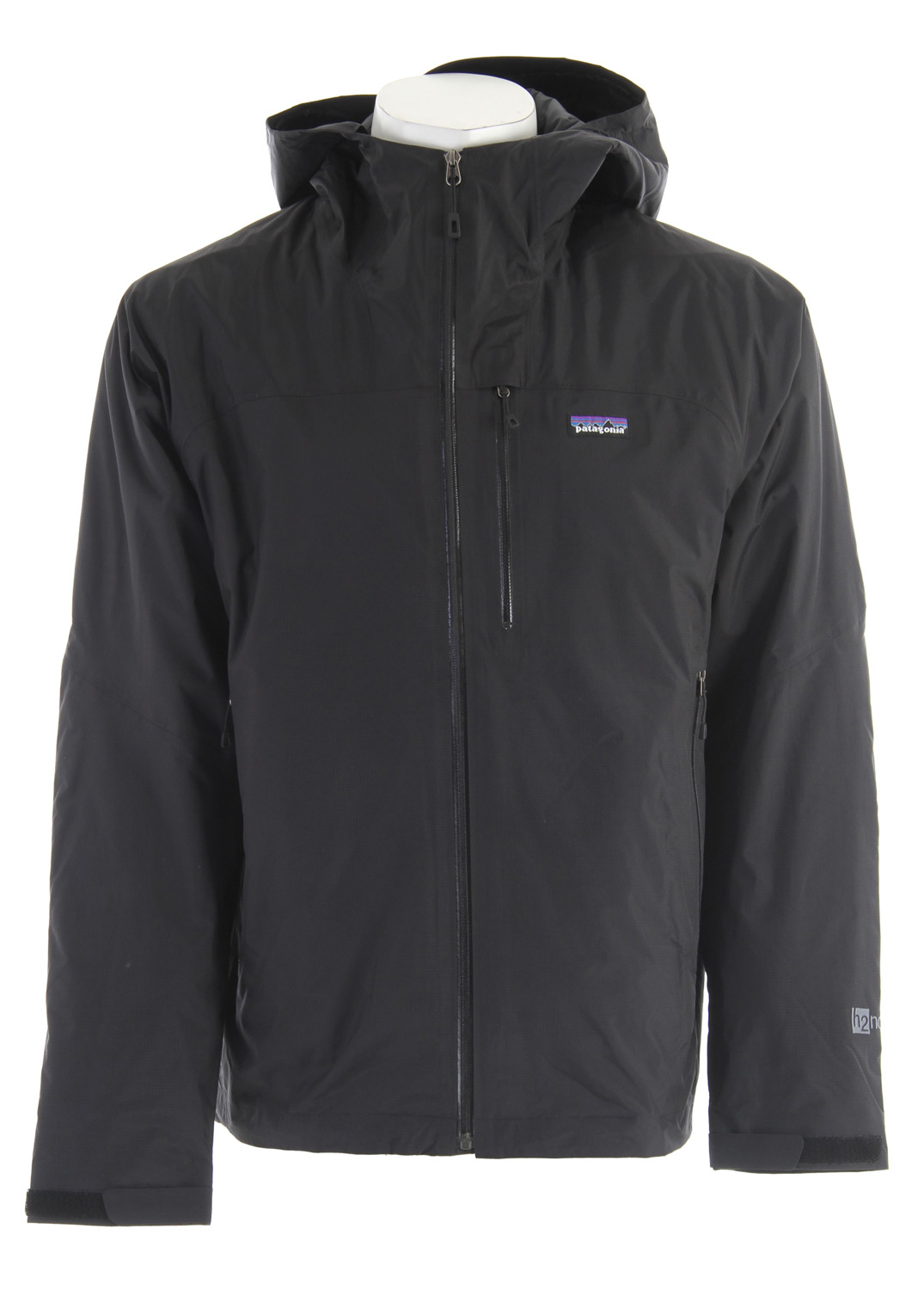 Waterproof, warm and superlight, this jacket has 2.5-layer nylon shell with a waterproof/breathable H2No barrier, and is insulated with Primaloft One polyester for cold and wet-weather protectionKey Features of the Patagonia Nano Storm Jacket: 2.5-layer nylon ripstop with a waterproof/breathable H2No barrier and Deluge DWR (durable water repellent) finish Lightweight 60-g Primaloft One polyester insulation provides excellent warmth and compressibility Unique quilt pattern holds insulation in place for durability Helmet-compatible, fully-adjustable hood with laminated visor for visibility in bad conditions Watertight, coated center-front-zipper Self-fabric hook-and-loop cuff closures and dual-adjust drawcord hem seal out the elements Pockets: Two handwarmers; one exterior left chest; one internal zippered pocket, one internal drop-in Regular fit (24.1 oz) 683 g Fabric: Shell: 2.5-layer 2.6-oz 50-denier 100% nylon ripstop with a waterproof/breathable H2No barrier. Insulation: 60-g Primaloft One polyester. Lining: 1.4-oz 22-denier 100% recycled polyester. Shell and lining have a Deluge DWR finish - $208.95
