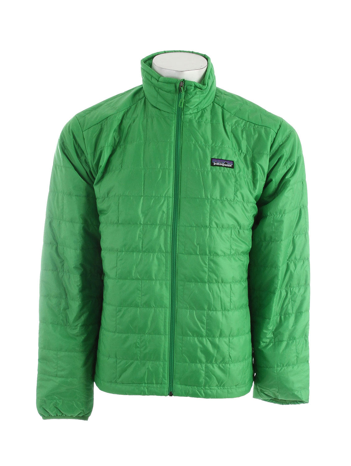 Windproof and water-resistant, the full-zip Nano Puff Jacket is made with warm, incredibly lightweight, highly compressible 60-g PrimaLoft One insulation, and is ideal as an insulating layer or outerwear in cold climates. FABRIC: Shell: 1-oz 15-denier 100% recycled polyester. Insulation: 60-g PrimaLoft One 100% polyester (70% recycled). Lining: 1.4-oz 22-denier 100% recycled polyester. Shell and lining have a Deluge DWR (durable water repellent) finishKey Features of the Patagonia Nano Puff Jacket: Regular fit Ultralight ripstop recycled polyester shell fabric has a Deluge DWR finish Lightweight 60-g PrimaLoft One insulation provides excellent warmth and compressibility Unique quilt pattern holds insulation in place for durability Zippered pockets: two handwarmers, one internal chest pocket (doubles as stuffsack) with a reinforced carabineer clip-in loop Dual-adjust drawcord hem seals out wind - $128.95