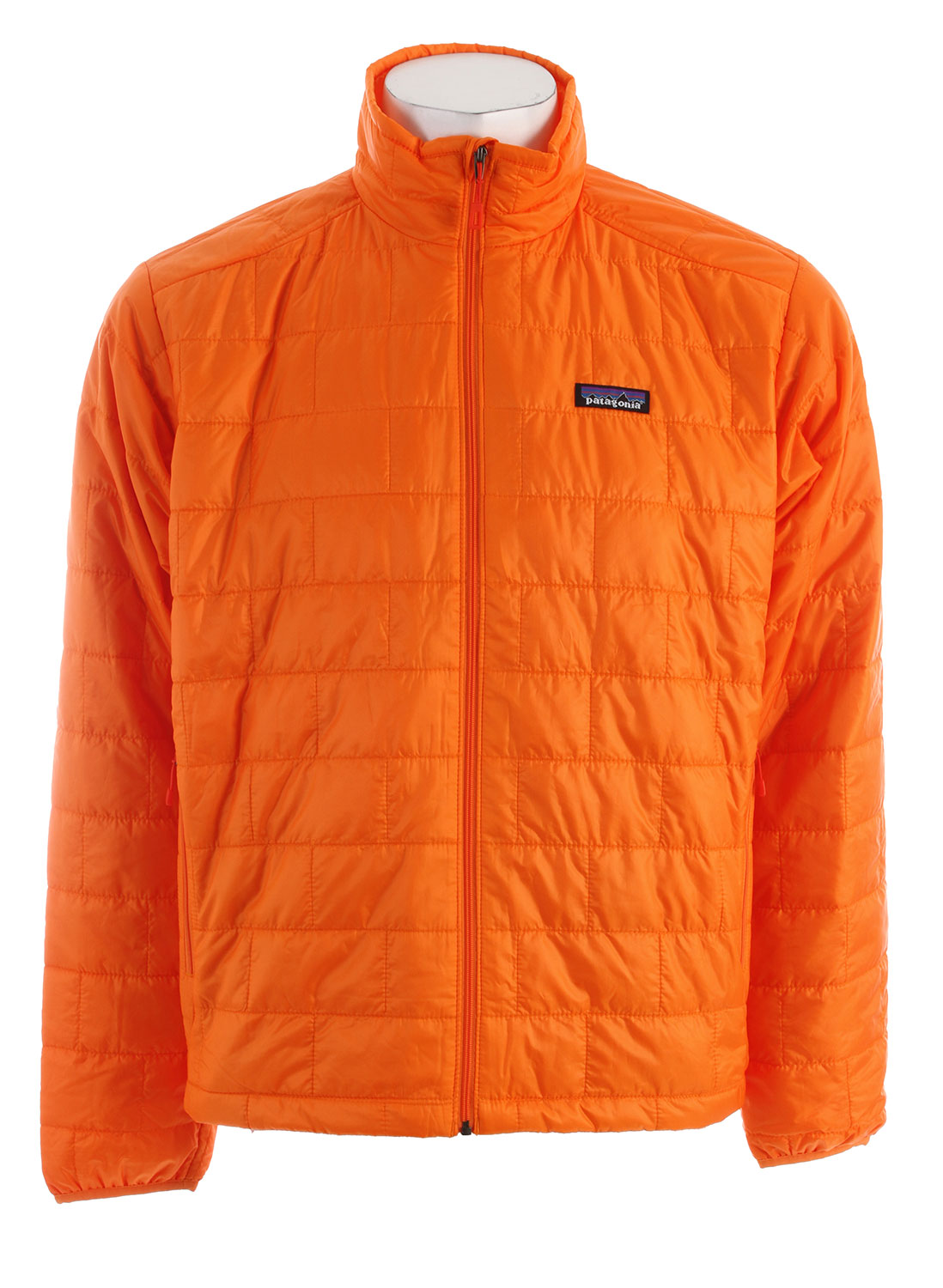 Windproof and water-resistant, the full-zip Nano Puff Jacket is made with warm, incredibly lightweight, highly compressible 60-g PrimaLoft One insulation, and is ideal as an insulating layer or outerwear in cold climates. FABRIC: Shell: 1-oz 15-denier 100% recycled polyester. Insulation: 60-g PrimaLoft One 100% polyester (70% recycled). Lining: 1.4-oz 22-denier 100% recycled polyester. Shell and lining have a Deluge DWR (durable water repellent) finishKey Features of the Patagonia Nano Puff Jacket: Regular fit Ultralight ripstop recycled polyester shell fabric has a Deluge DWR finish Lightweight 60-g PrimaLoft One insulation provides excellent warmth and compressibility Unique quilt pattern holds insulation in place for durability Zippered pockets: two handwarmers, one internal chest pocket (doubles as stuffsack) with a reinforced carabineer clip-in loop Dual-adjust drawcord hem seals out wind - $139.95