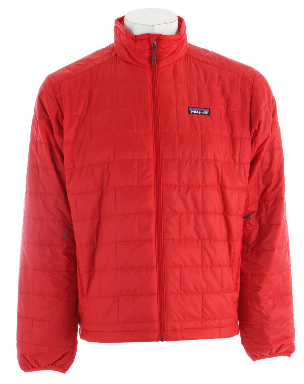 Windproof and water-resistant, the full-zip Nano Puff Jacket is made with warm, incredibly lightweight, highly compressible PrimaLoft One insulation. Ideal as an insulating layer or outerwear in cold climates. fabric: Shell: 1-oz 15-denier 100% recycled polyester. Insulation: 60-g PrimaLoft One 100% polyester (70% recycled). Lining: 1.4-oz 22-denier 100% recycled polyester. Shell and lining have a Deluge DWR (durable water repellent) finishKey Features of the Patagonia Nano Puff Jacket: Ultralight ripstop recycled polyester shell fabric features a Deluge DWR finish Lightweight 60-g PrimaLoft One polyester insulation provides excellent warmth and compressibility Unique quilt pattern holds insulation in place, increasing durability and longevity Pockets: Two zippered handwarmers, one internal zippered chest pocket, which doubles as a stuff sack with a reinforced carabineer clip-in loop Dual-adjust drawcord hem seals in warmth, seals out wind - $131.95