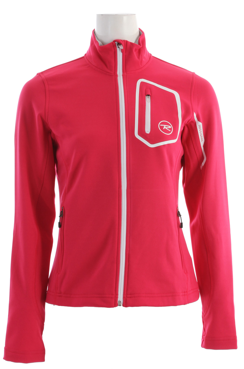 Rossignol Clim Full Zip Softshell Jacket Cochineal - $77.95