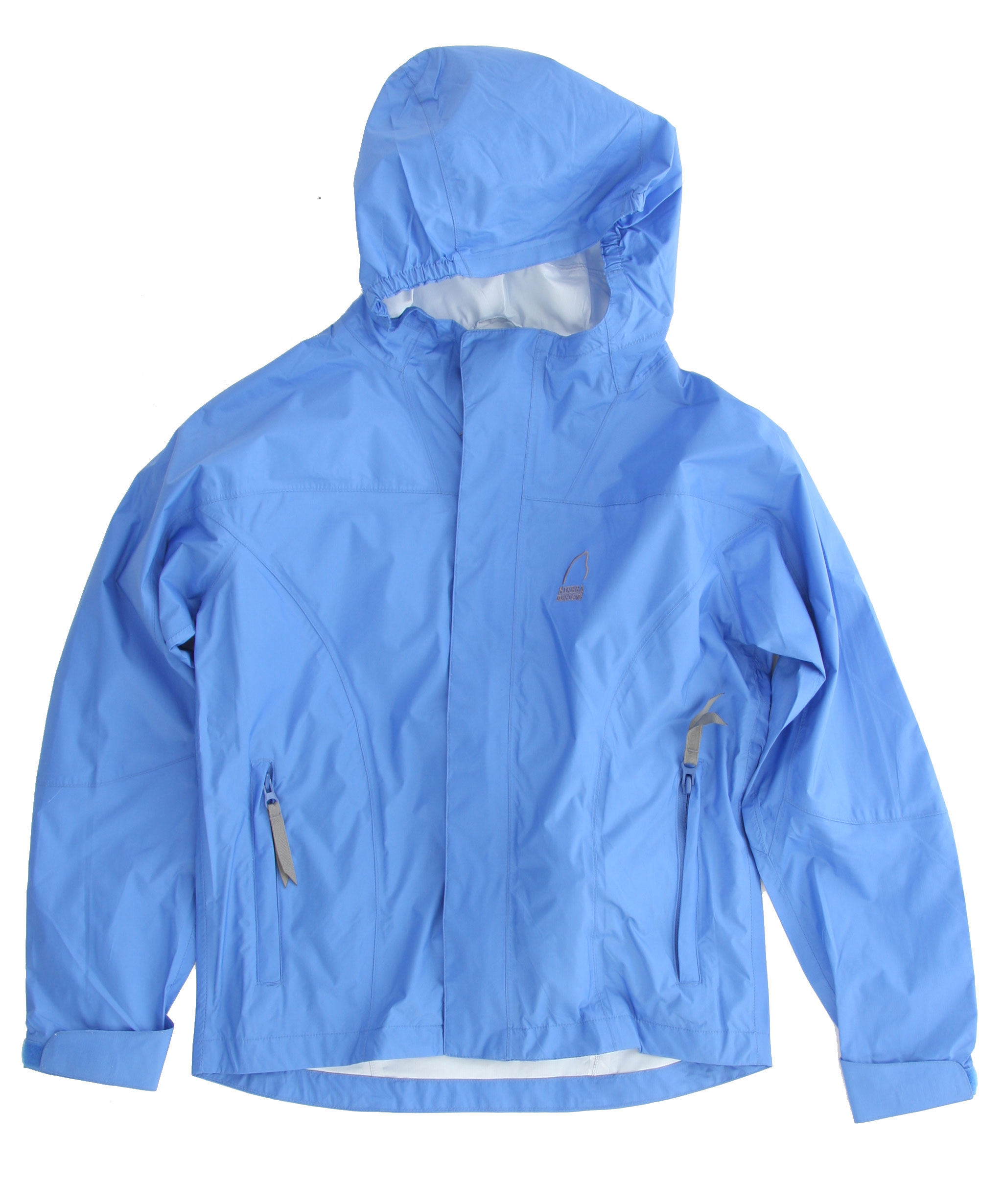"Waterproof, breathable, the Sierra Designs Hurricane Girl's Shell Jacket is designed specifically for girls. We build these out of our reliable Hurricane fabric, with seam sealing and an adjustable hood.Key Features of the Sierra Designs Hurricane Girl's Shell Jacket: 5,000mm Waterproof 5,000g Breathability Fully Taped PVC-Free Seams Encased Elastic on Each Side of Hood and Hood Has Visor Reverse Coil Center Front Zipper 2 Zippered Hand Pockets 1 Zippered Interior Chest Pocket with Earbud Portal Adjustable Cuffs Center Back Length 23.25"" (M) Weight 8.5 oz Hurricane 5,000/ 5,000 100% Nylon Ripstop, 40D, Solvent-Free Laminate with DWR finish, 3.45 oz/yd; (117 g/sqm) - $24.20"