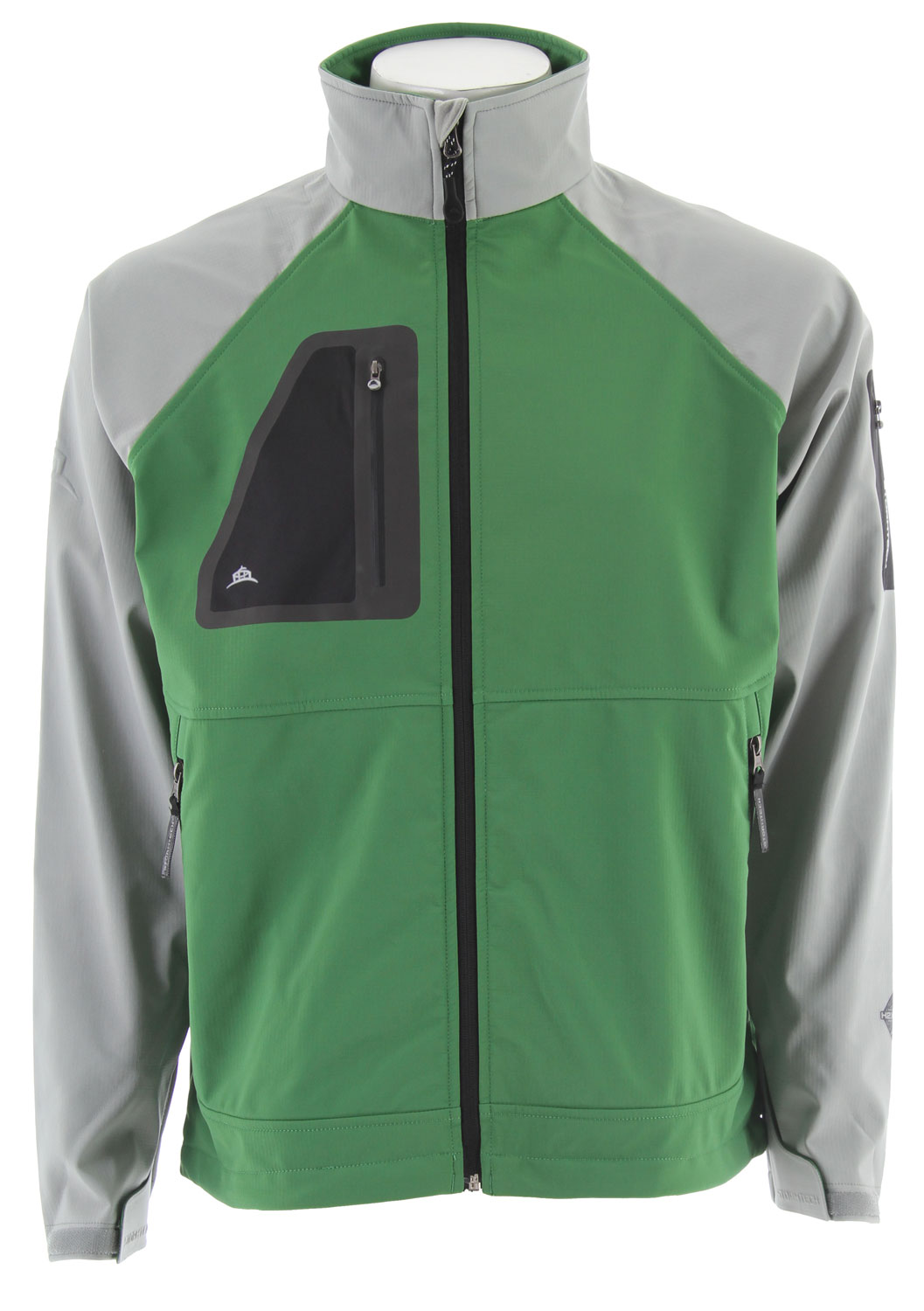 If highly aerobic three season activities are what keep you going, a softshell that is waterproof, breathable, and slightly stretchy is crucial for optimum comfort. The Aeros H2extreme Shell can be worn alone for a weatherproof barrier or layered during the thick of the season.Key Features for the Stormtech Aeros H2xtreme Shell Jacket: 8,000mm Waterproof 5,000g Breathability Embossed Logo Detailing on Right Sleeve Waterproof Chest and Bicep Pocket Chest Pocket with Audio Port - $61.95