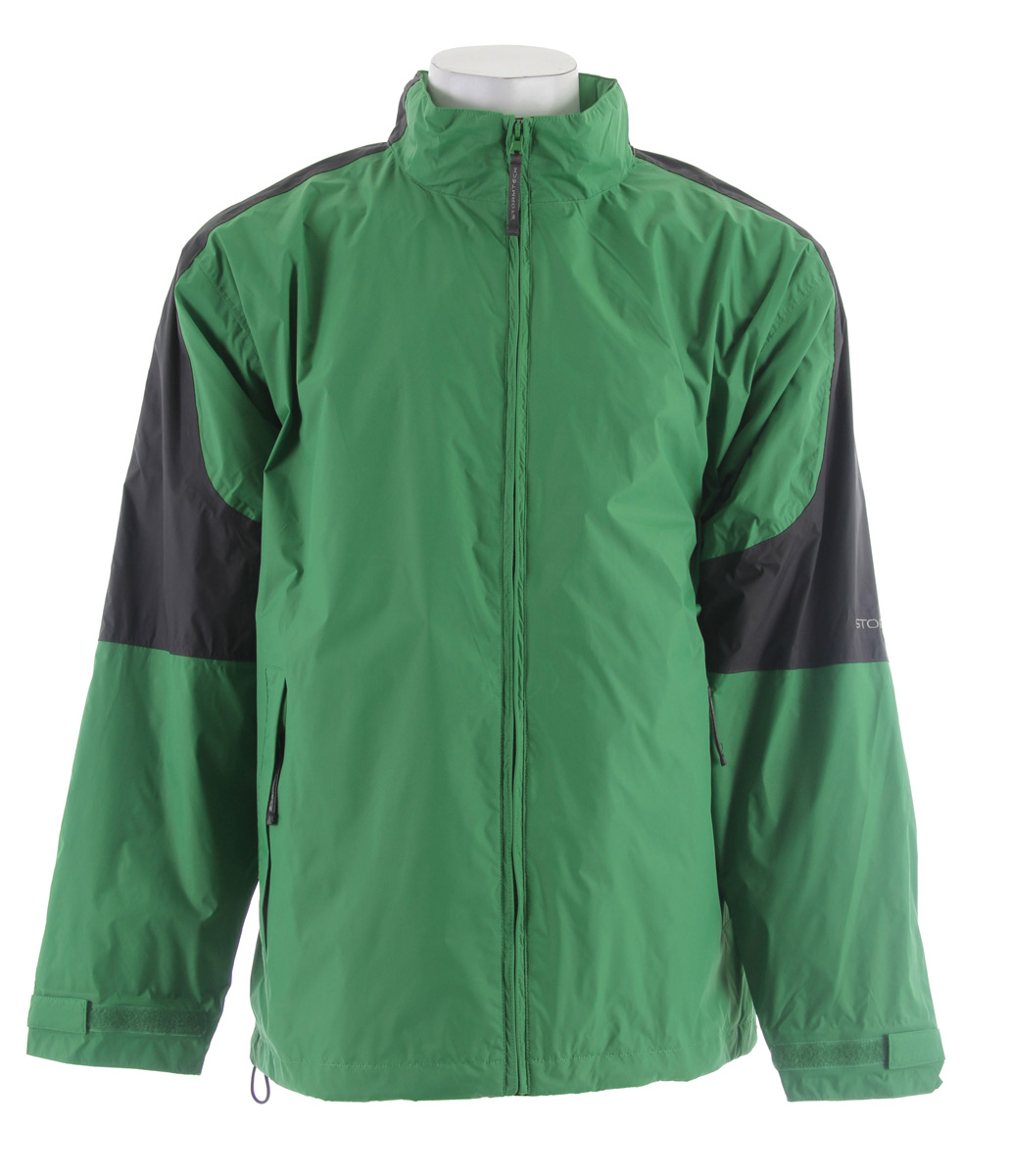 Stormtech Nautilus Packable Storm Jacket Kiwi/Granite - $35.95