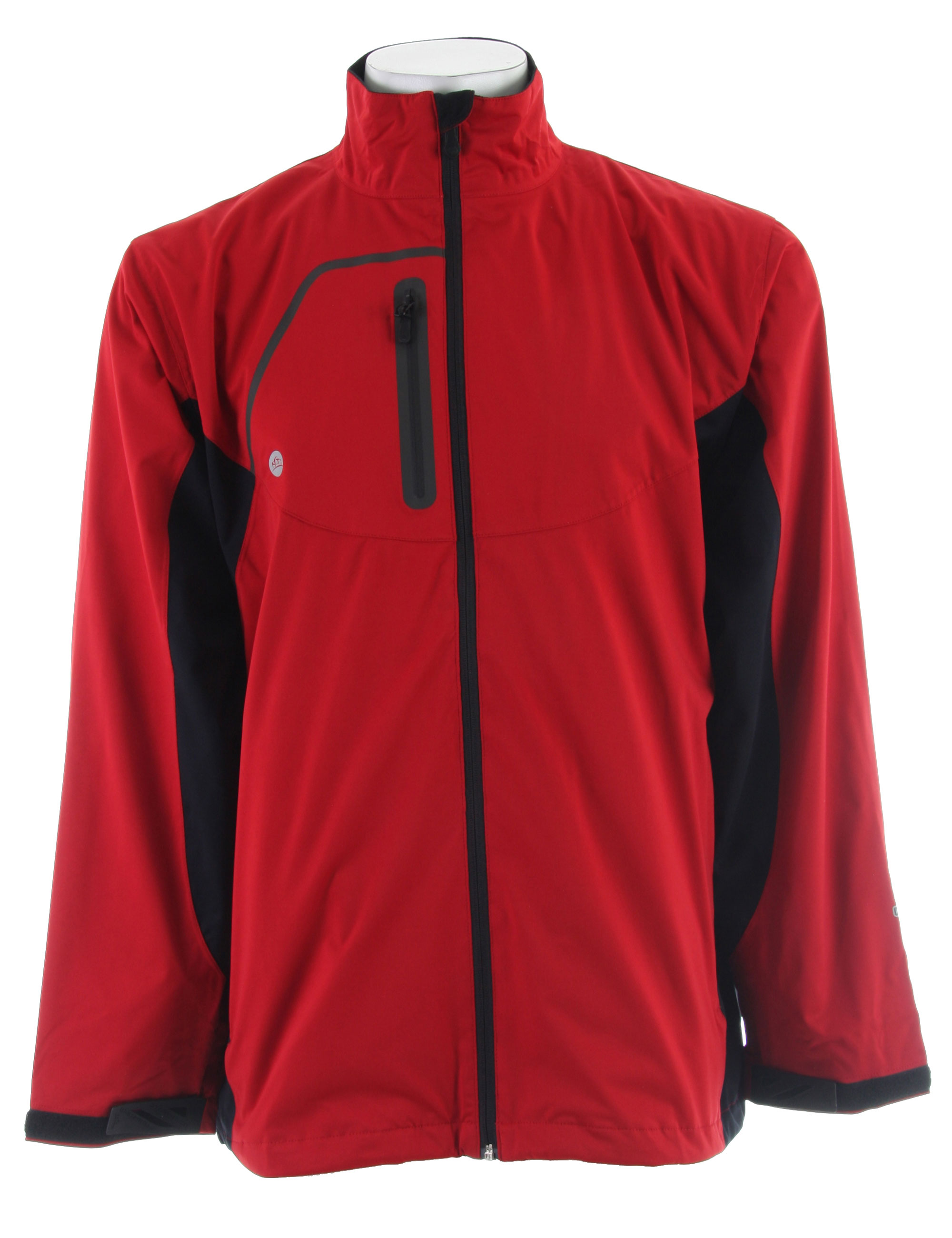 Stormtech Trident Microflex Storm Shell Jacket Red/Black - $44.95
