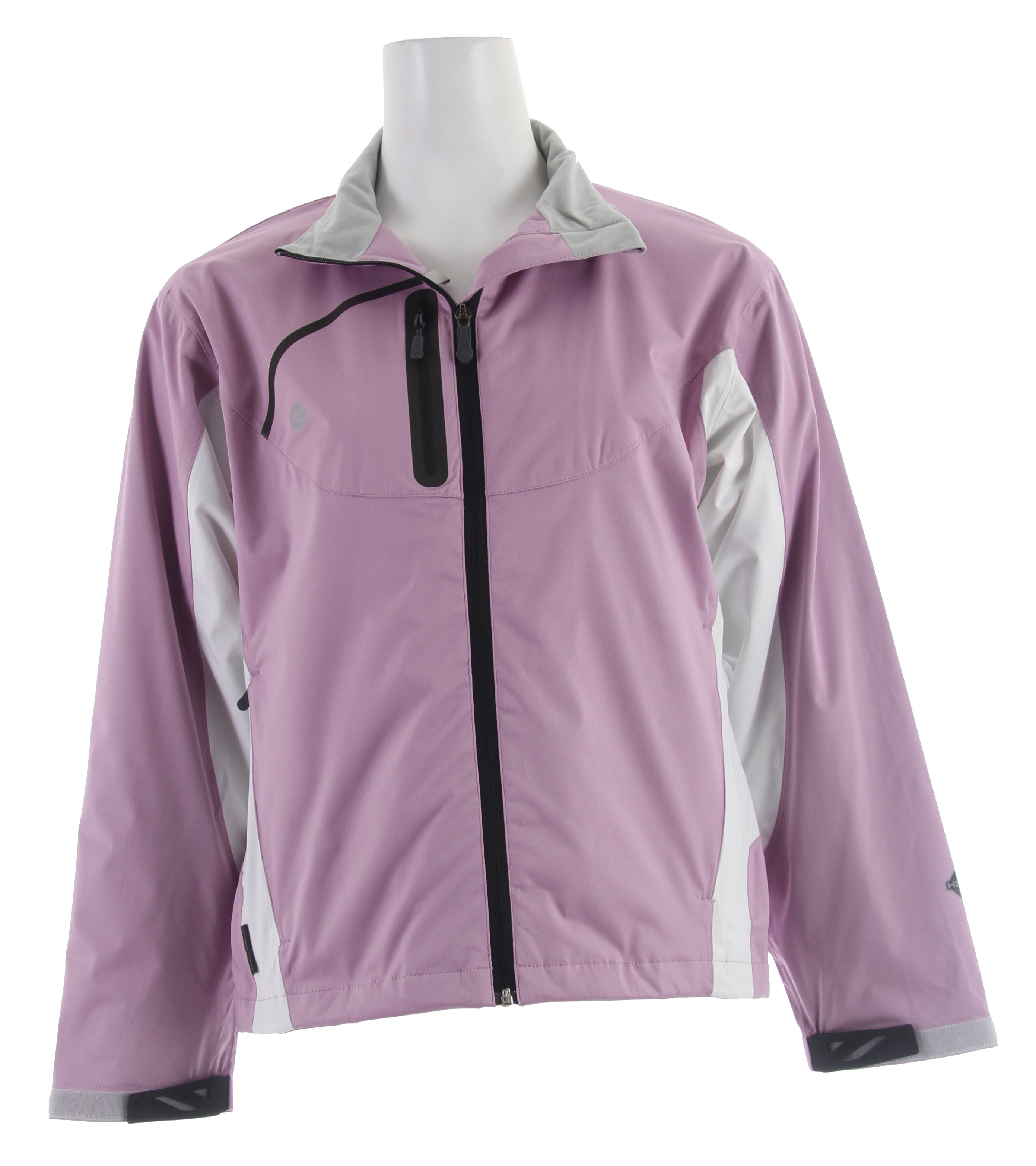 Stormtech Trident Microflex Storm Shell Jacket Lavender Herb/White - $44.95