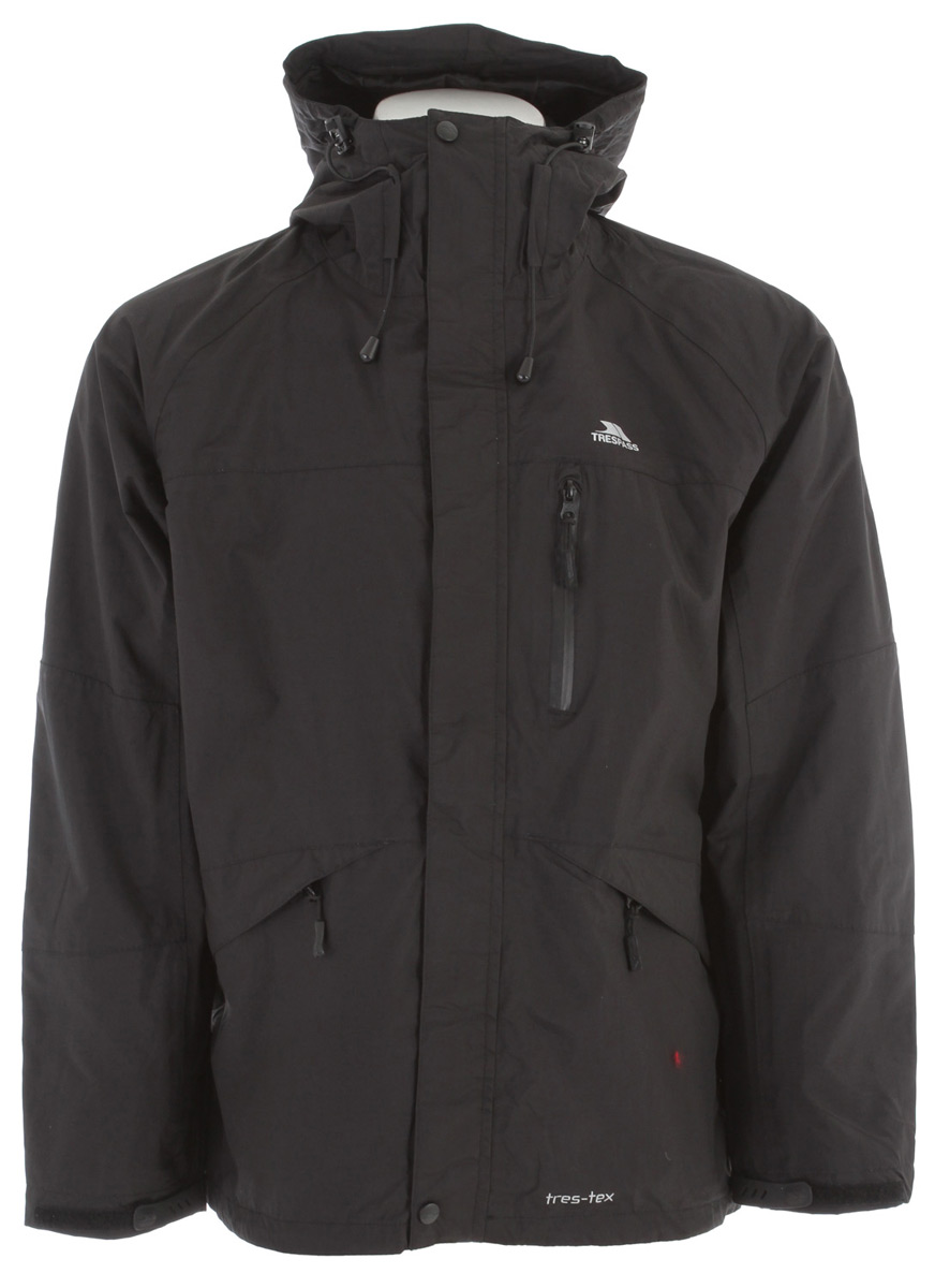 Trespass Corvo Jacket Black - $47.95