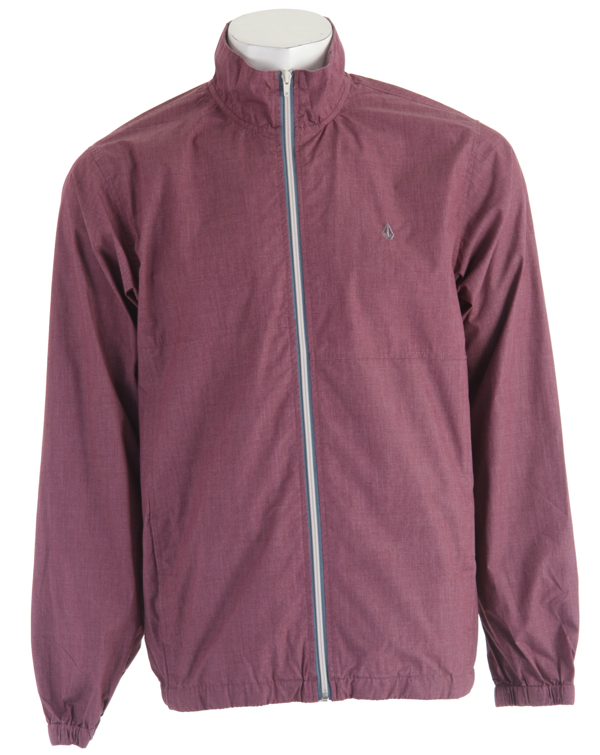Surf Be ready for adventure when you walk out the door this season with the light and comfortable Volcom Faded Heather Jacket for men! This polyester/cotton blend mock neck windbreaker is part of Volcom's Core Collection and has elastic at the cuffs and waistband to keep the cold air out and the warm air in. When it's time for your next outdoor adventure, grab the Faded Heather jacket from Volcom and go!Key Features of the Volcom Faded Heather Jacket:  Mock neck windbreaker  2 color front zipper  Elastic cuff and waistband  Rib interior collar  Core Collection  65% Polyester/35% Cotton Poplin w/ 600MM - $41.95