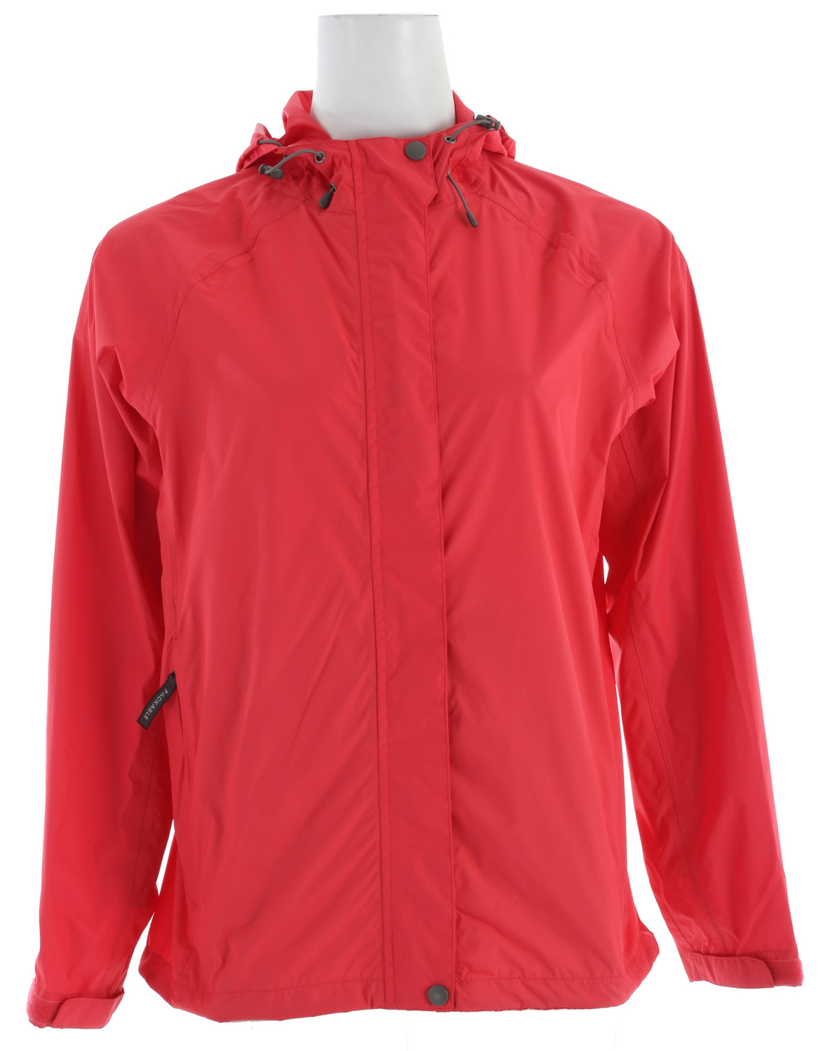 "Camp and Hike The Trabagon Jacket gives heavy waterproof protection against the elements using the lightest fabric. Throw it on between errands or for hiking. Tuck this jacket into your pack or purse and hardly know its there.Key Features of the White Sierra Trabagon Jacket: 100% polyester micro rip stop woven Waterproof/breathable fabric Fully seam taped Back yoke with mesh venting Packable – stows in front pocket One hand quick draw hem Reflective logo Adjustable cuffs Center back length: 27"" - $39.95"