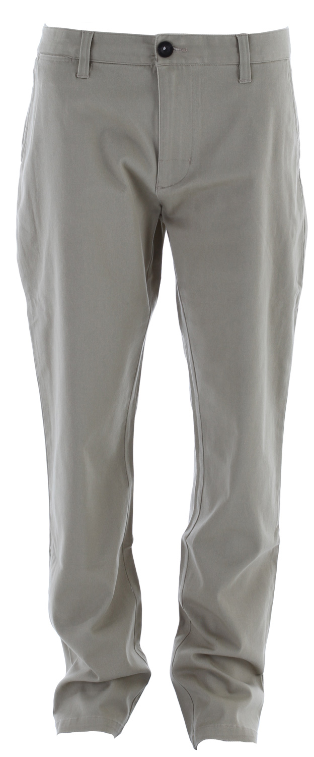 "Key Features of the Analog Chino Pants: Slim Chino pant with 15.5"" leg opening and interior waistband detail Worker labeling 99% Cotton / 1% Stretch with Wheel Wash - $40.95"