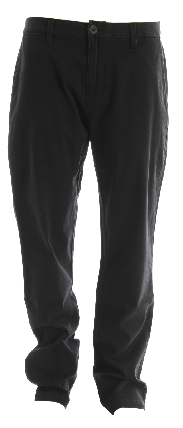 "Fitness Key Features of the Analog Chino Pants: Slim chino pant with 15.5"" leg opening Interior waistband detail Worker labeling 99% cotton/1% stretch with garment wash and softeners - $35.95"