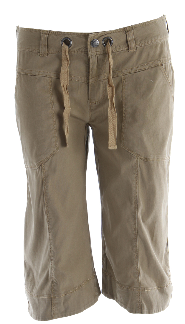 Key Features of The North Face Noble Stretch Capri Pants: UPF 50+ sun protection Drawstring closure Stretch cotton twill - $30.95