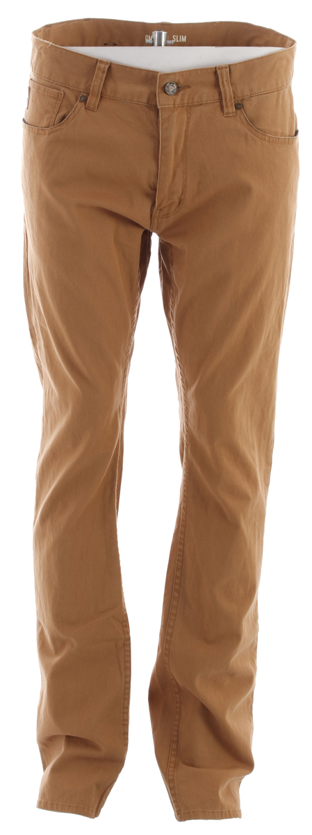 Stretch Canvas Slim Fit Pants. - $42.95