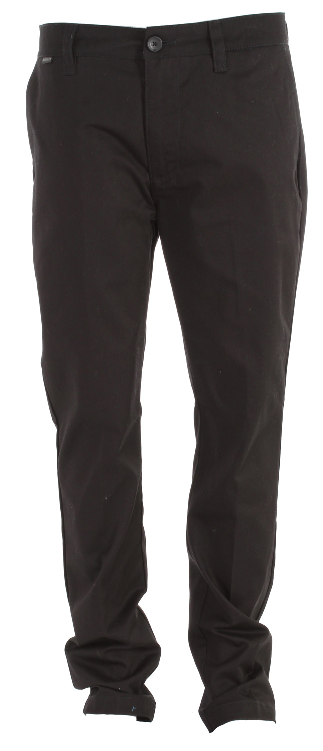 "Surf Key Features of the Quiksilver Union Regular Fit Pant: 60% cotton/40% polyester chino pant Interior waistband details Side cell pocket Single welt back pockets Waistband label Belt loop with ""x"" detail Enzyme stone wash with softener - $34.95"