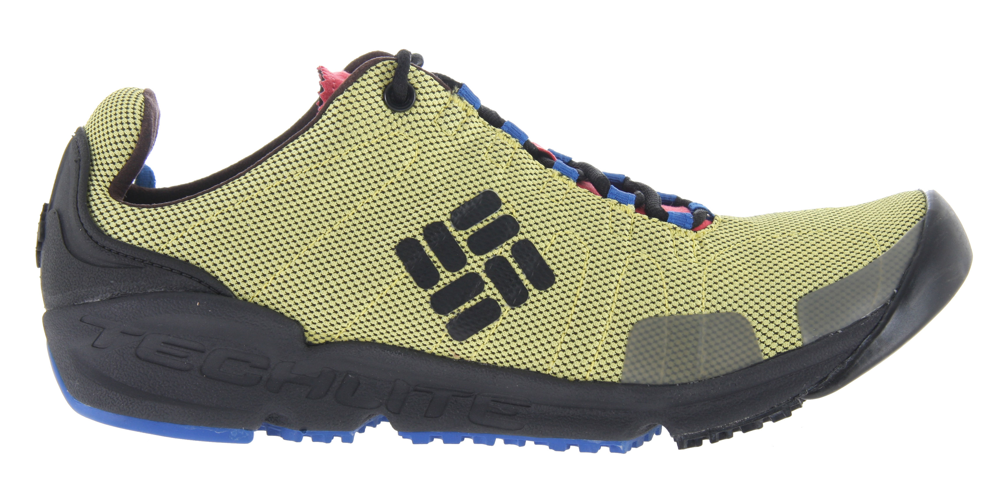 Camp and Hike Inspired by rock climbing but meant for all multisport outdoor activities.  The Descender Shoe is light weight, minimal and super comfortable.Key Features of the Columbia Descender Hiking Shoes: Closed mesh with micro-suede overlays and webbing for support and stability  Techlite heel and tongue for support and comfort Single density Techlite foam offers lightweight cushioning and support Internal TPU shank for torsion control Omni-Grip Sticky rubber compound forefoot for maximum traction on rock and hard surfaces Omni-Grip high traction rubber compound for trail traction in all terrain - $59.95