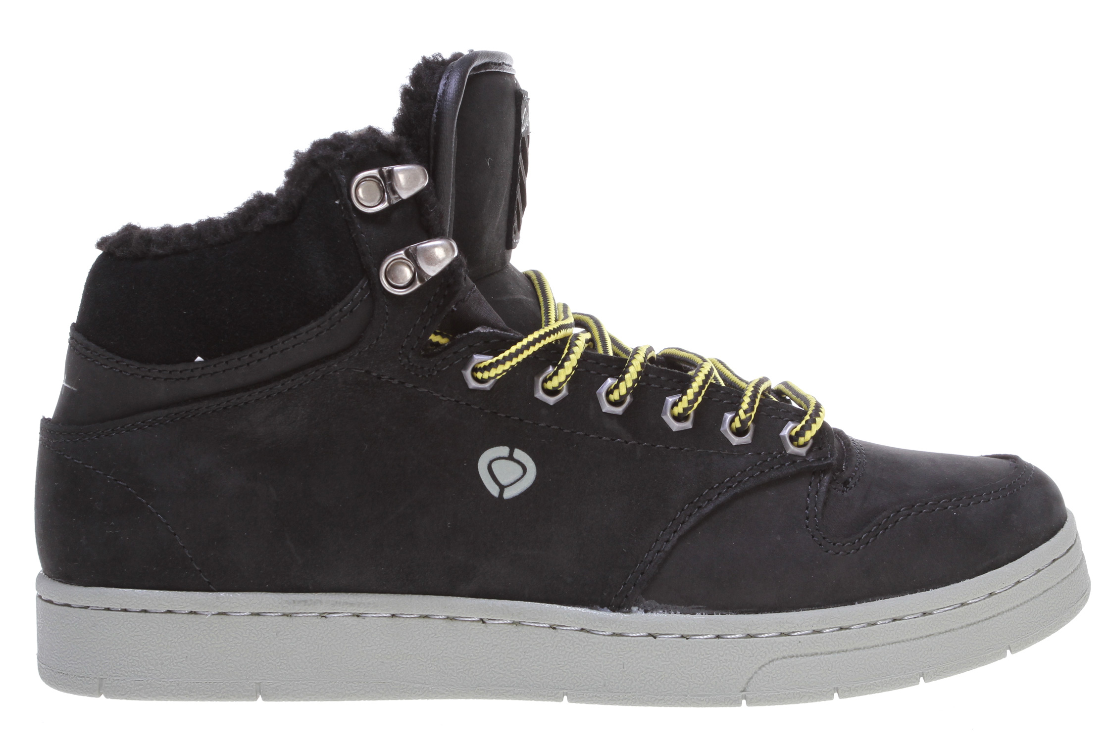 Skateboard Key Features of the Circa Lurker Skate Shoes: Specialized, unique logo and material treatment Soft, breathable fabric lining Quality strobel construction Insulated upper Waterproof tongue gussets Water resistant upper treatment - $71.95