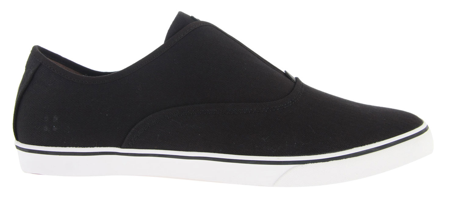 Skateboard Key Features of the Gravis Dylan Slip On Skate Shoes: Leather/Suede Upper Pigskin Lining Sandwich Construction Footbed Internal Cushioning Via Poron Eva & Latex Materials High Traction Extra Thin Outsole - $37.95