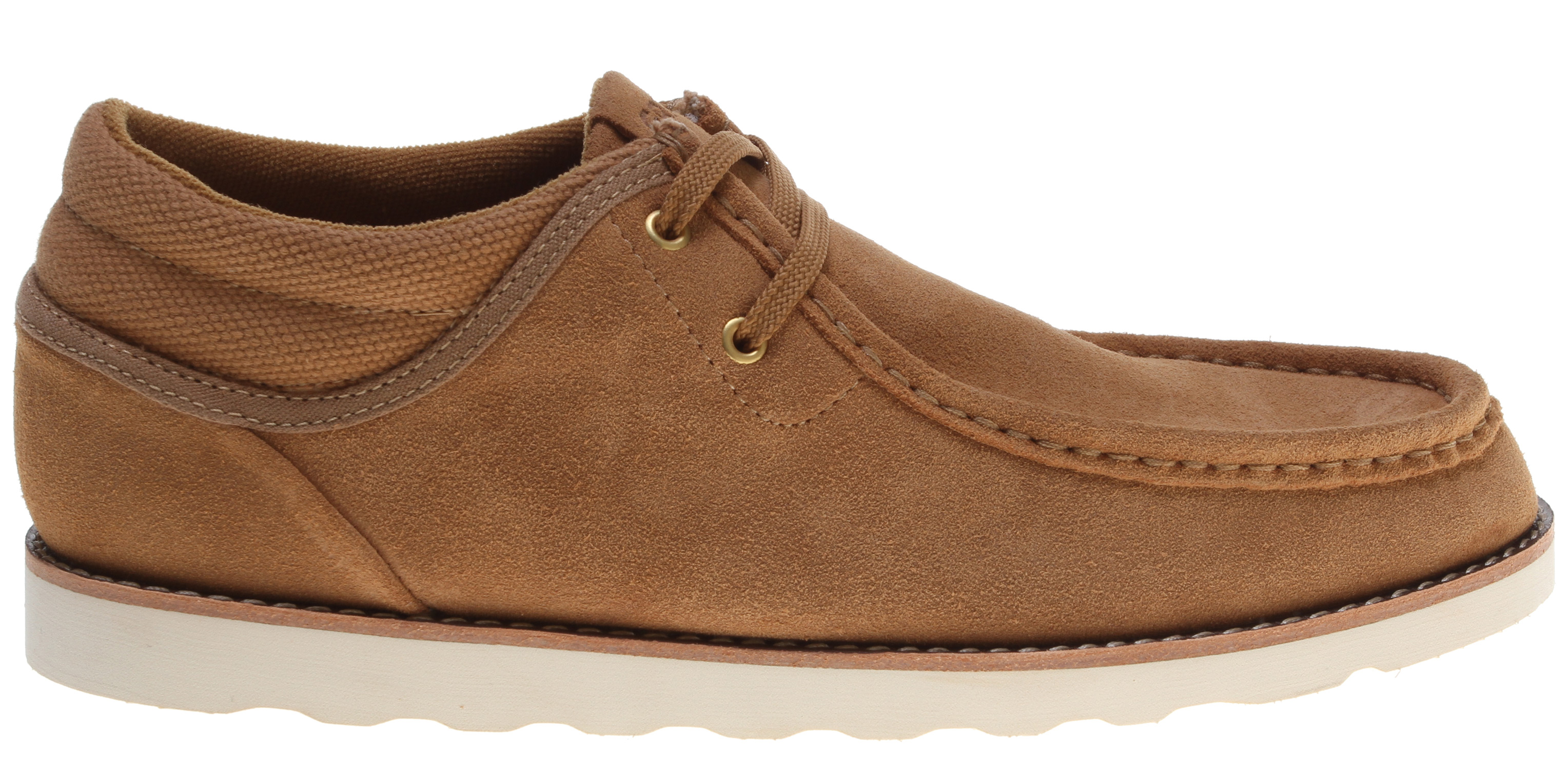 Key Features of the Gravis Mason Shoes: Premium Suede Uppers Gusseted Tongue Construction Insulated Terry Cloth Lining Comfortable Latex Footbed With Arch Support Durable One Piece Blown Rubber Outsole - $69.95