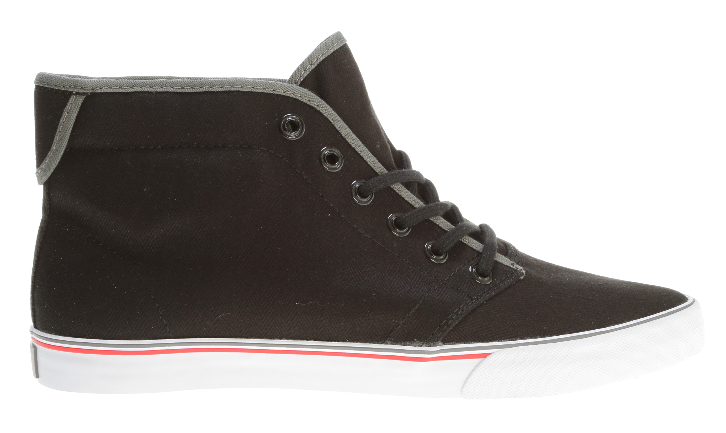 Skateboard The Gravis Slymz Mid Skate Shoes is a slim fit mid top in seasonal colors.Key Features of the Gravis Slymz Mid Skate Shoes: Soft Canvas Uppers Canvas Lining Double Stripe Foxing Latex With Rubber Heel Wedge Footbed High Traction Molded Rubber Outsole - $41.95