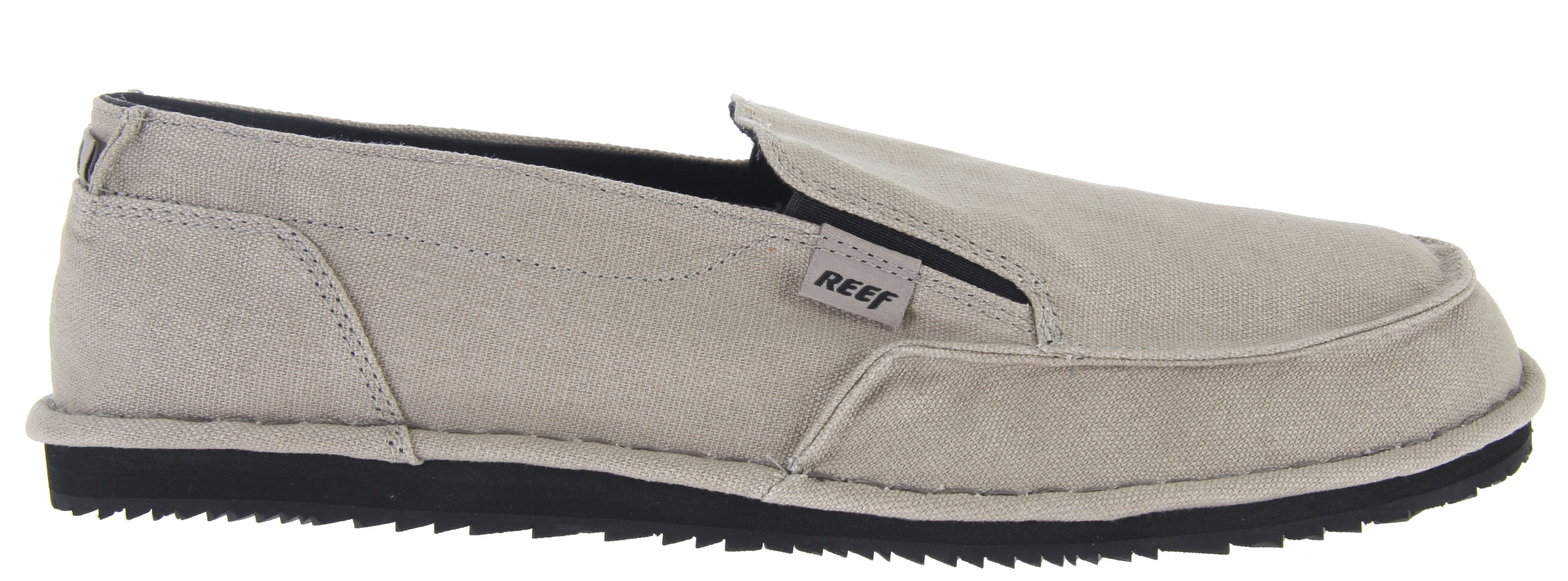 Surf Looking a comfortable, casual, and stylish shoe? Look no further than the Reef Soulwolf Shoe. This shoe is a casual shoe that has no laces so that means you can just slip them on for when your on the go. It has a soft breathable canvas material that covers the top of the shoe, no more sweaty feet! Its Eva Midsole W/ Reef Sandal Arch Technology really puts this casual shoe over the top. The reef sandal arch technology makes it almost impossible that your feet become sore. And of course, the feature that will send customers snatching these shoes of the shelves has to be the reef molded rubber swellular traction outsole. With a shoe this comfortable and casual, it would be hard to imagine haveing a nice swelllular ousole, but the Reef Soulwolf Shoes have em'!Key Features of the Reef Soulwolf Shoes: Soft Breathable Canvas Upper Eva Midsole W/ Reef Sandal Arch Technology Molded Wax Texture Cushion Insole Reef Molded Rubber Swellular Traction Outsole - $31.95