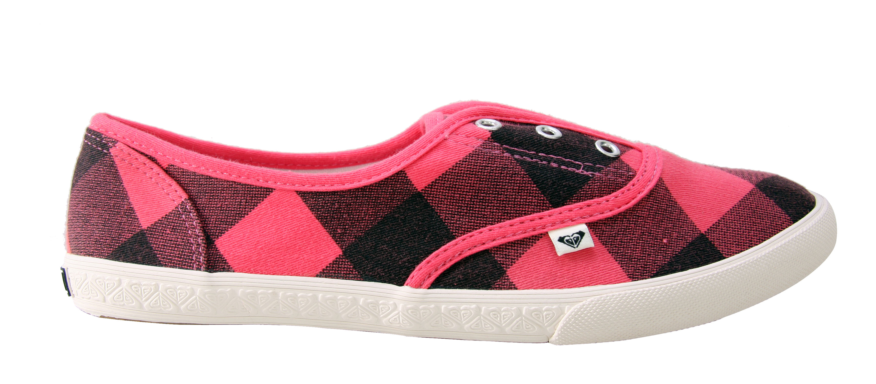 Surf Look casual and comfortable with the Roxy Manchester Shoes. Super lightweight, you can wear these all day without feeling tired. It features a washed canvas, denim material upper. Its rubber soles are great for high traction. With its plaid design, it's ultra cute, super easy to match. So, don't be without the Roxy Manchester Shoes this season and treat yourself to these fabulous shoes.Key Features of The Roxy Manchester Women's Shoes: Light Weight Washed Canvas or Distressed Denim Uppers Lace Less with Elastic For Fit Logo Flag Canvas Lining and Insole Rubber Foxing and Outsole - $22.95