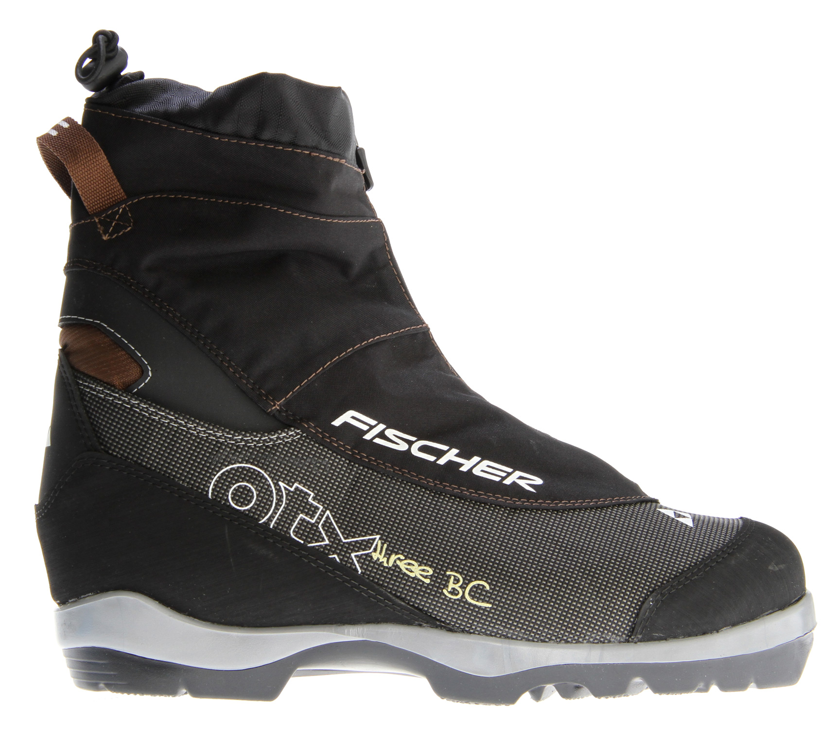 Ski This new boot opens up individual opportunities away from the tracks as well: with Integrated Gaiter, Sealed Zipper and Wool Lining, the Fischer Offtrack 3 BC Cross Country Ski Boot offers reliable protection against the snow and the cold. Easy Entry Loops make the boot easy to put on. T3 sole and hard-wearing nylon outer material with partial rubber sole edge round off the package.Key Features of the Fischer Offtrack 3 BC Cross Country Ski Boots: Sole: T3/BC Bootflex: Soft Sport Fit Concept Twin Skin Concept Easy Entry Loops Integrated Gaiter Sealed Zipper Wool Lining - $95.95