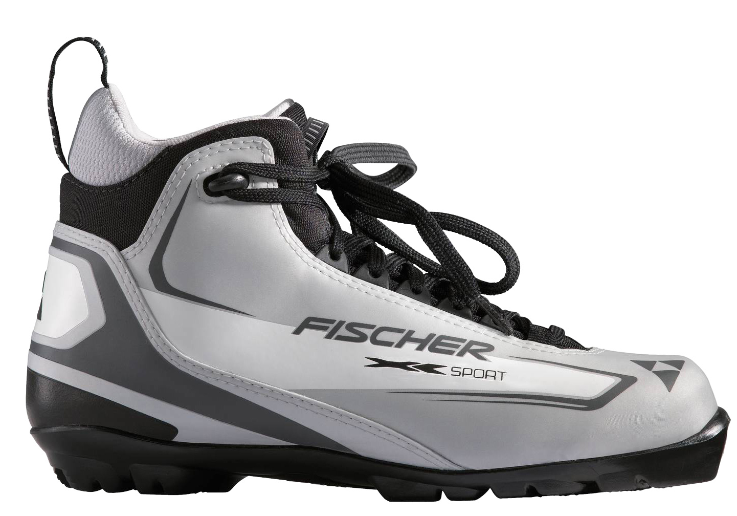 Ski Ingenious concept for adventurous tours. The Fischer XC Sport Cross Country Ski Boot model features medium sole stiffness, practical pull-on loop, precise fitting and easy lacing.Key Features of the Fischer XC Sport Cross Country Ski Boots: Sole: T3 Bootflex: Soft Sport Fit Concept Easy Entry Loops - $51.95