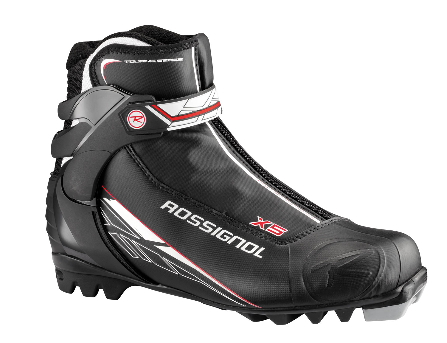 Ski Rossignol's Touring line is our #1 selling boot category and now has all-new fits, features, and rack appeal. These boots also deliver incredible comfort, warmth, and control for recreational skiers and active winter enthusiasts. Featuring men and women-specific fits with thermo-moldable inner liners, Rossignol's Touring line is incredibly user-friendly and great for increasing winter fitness. This line consistently sells to the broadest range of consumers.Key Features of the Rossignol X5 Cross Country Ski Boots:   Sole: T4   Liner: Thermo Fit   Thinsulate - $76.95
