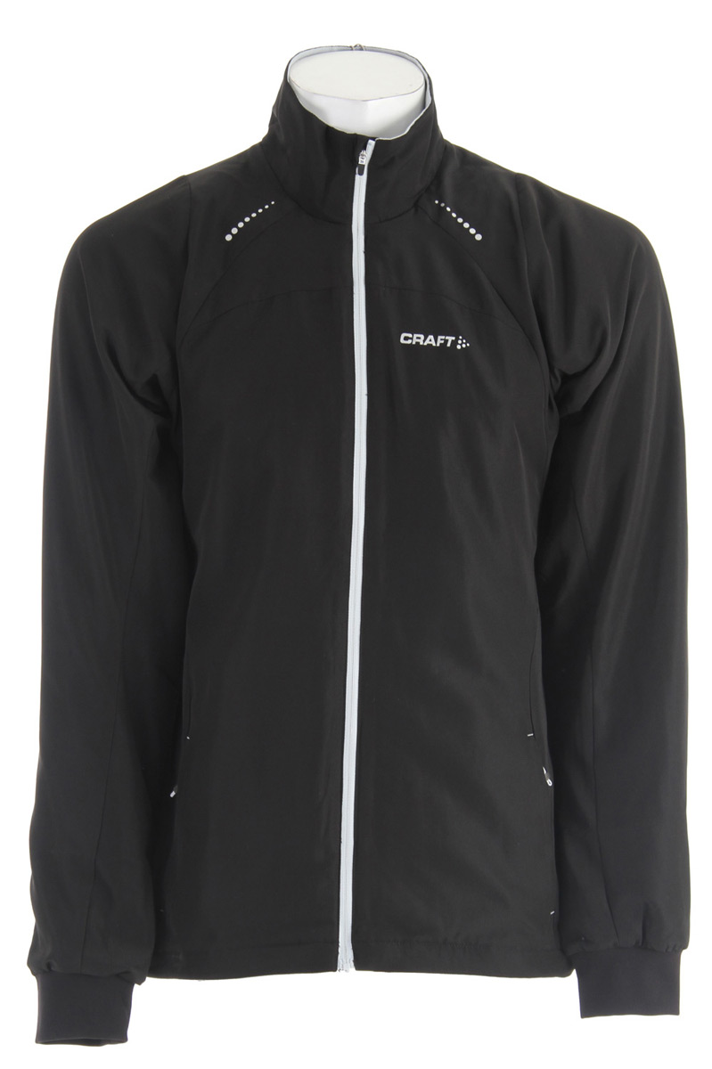 Ski Key Features of the Craft AXC Touring Cross Country Ski Jacket: Warm and sporty training jacket Stretchy wind protection and water repellent shell fabric Bodymapped stretch panels around armpits and back for full support of the body movement Ergonomic shape and cut for full freedom of movement Ventilatio - $66.95