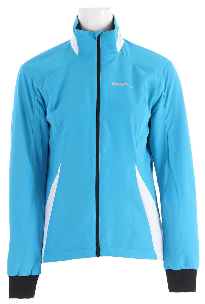 Ski Key Features of the Craft AXC Touring Cross Country Ski Jacket: Warm and sporty training jacket Seam placement on sleeve to enhance preshape Two side pockets Brushed lining for extra warmth Wind protective shell fabric - $66.95