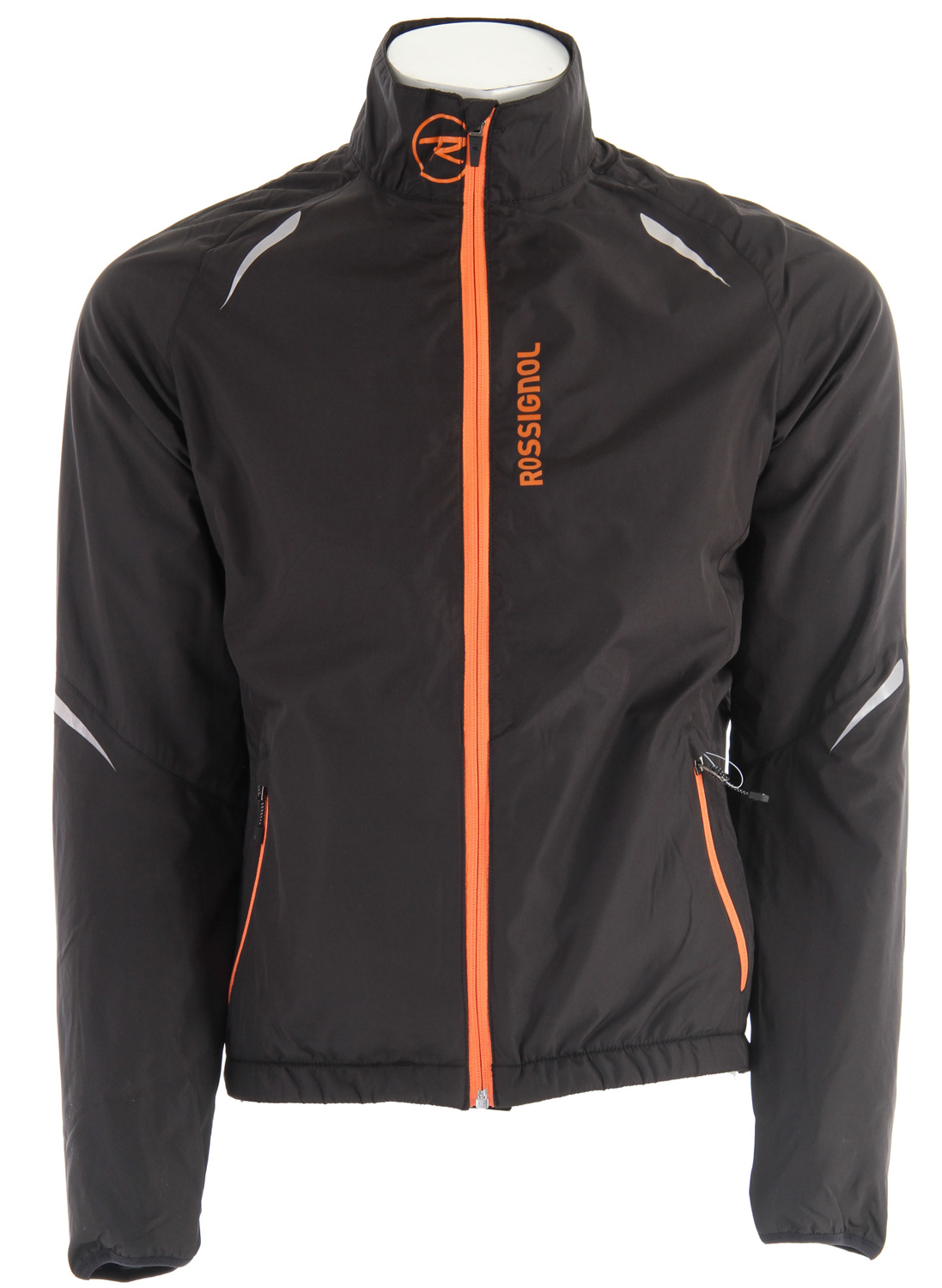 Ski Cold winter outings demand an active jacket that'll warm you up without roasting you and the Rossignol Xium Cross Country Ski Jacket for men achieves just that. For Nordic skiing and running, and similar high-energy activities in lower temps, this is a great grab-and-go layer, ready for handling wind and light precipitation on your ski loop or morning jog through the neighborhood. The DWR coating sheds water while the soft, brushed lining and warm stretch back lend just the right amount of warmth. The snug lycra cuffs and elastic waist with anti-slip rubber help banish the cold.  R-Wind/R-Warm Stretch   100% Polyester - 87% Polyester/13% Elastane   Weight: 63g/m2 - 240 g/m2   Finish: DWR - Windproof - Brushed inside   Lycra binding cuffs   Elastic waist adjustment with anti slip rubber   Warm stretch back   Reflective prints   Large back pockets - $77.95